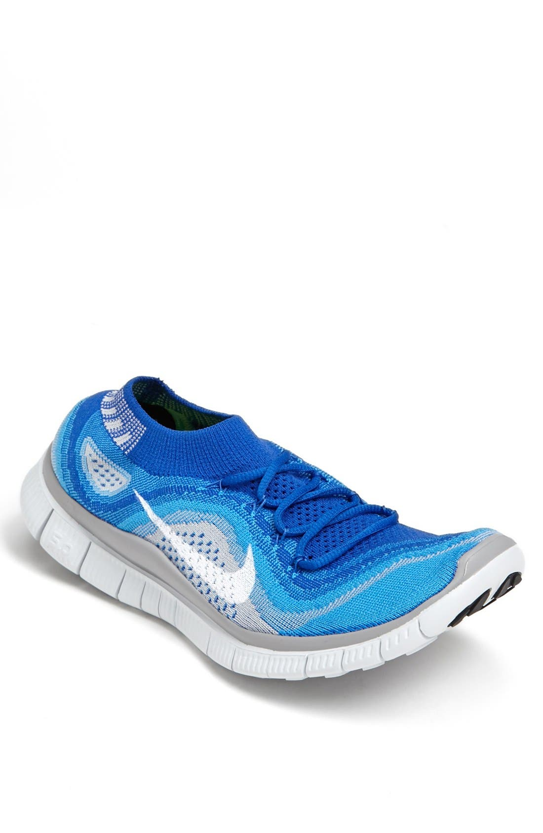 Alternate Image 1 Selected - Nike 'Free Flyknit+' Running Shoe (Men)