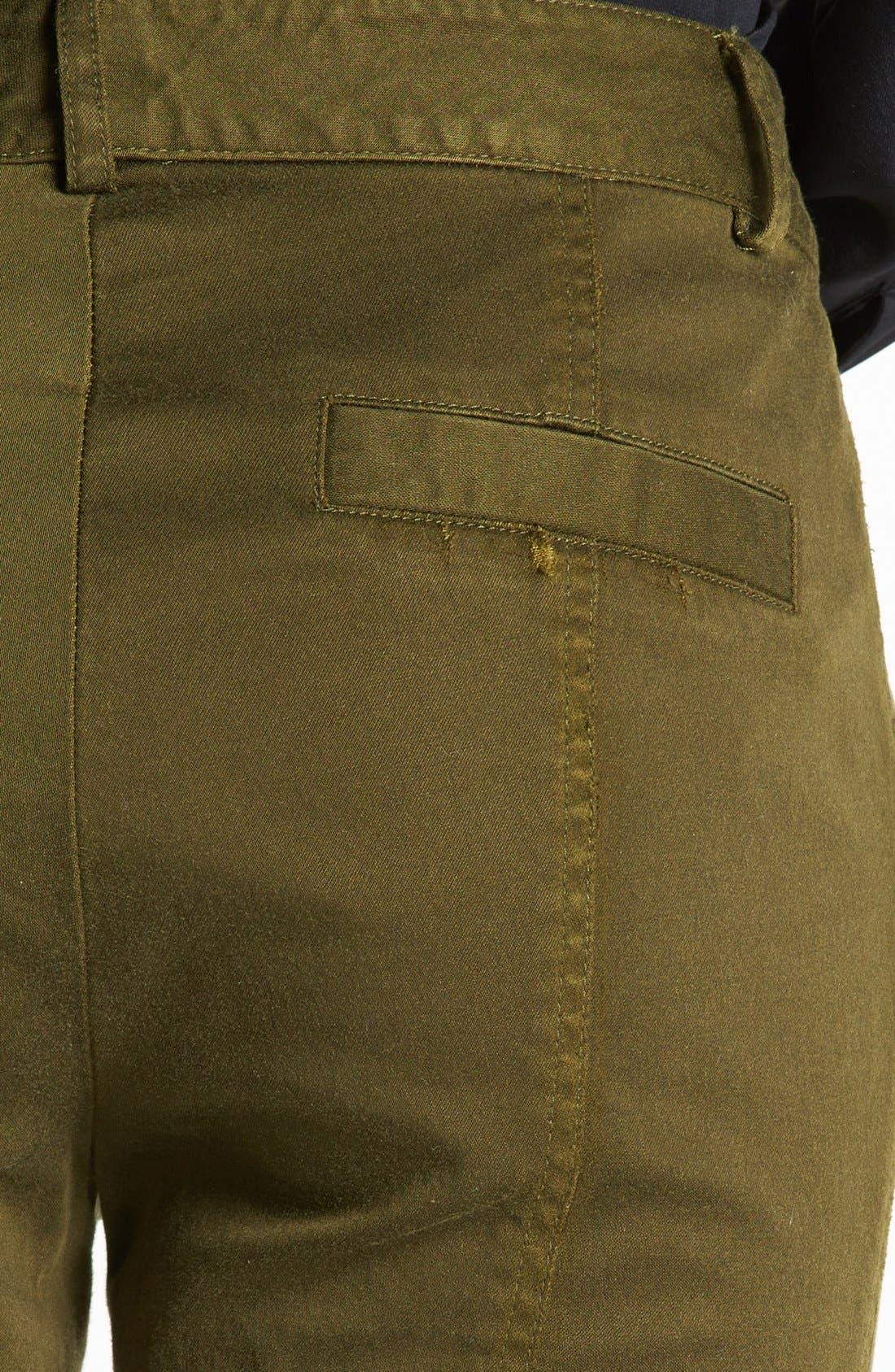 Alternate Image 3  - Nanette Lepore 'Orbit' Seamed Skinny Pants