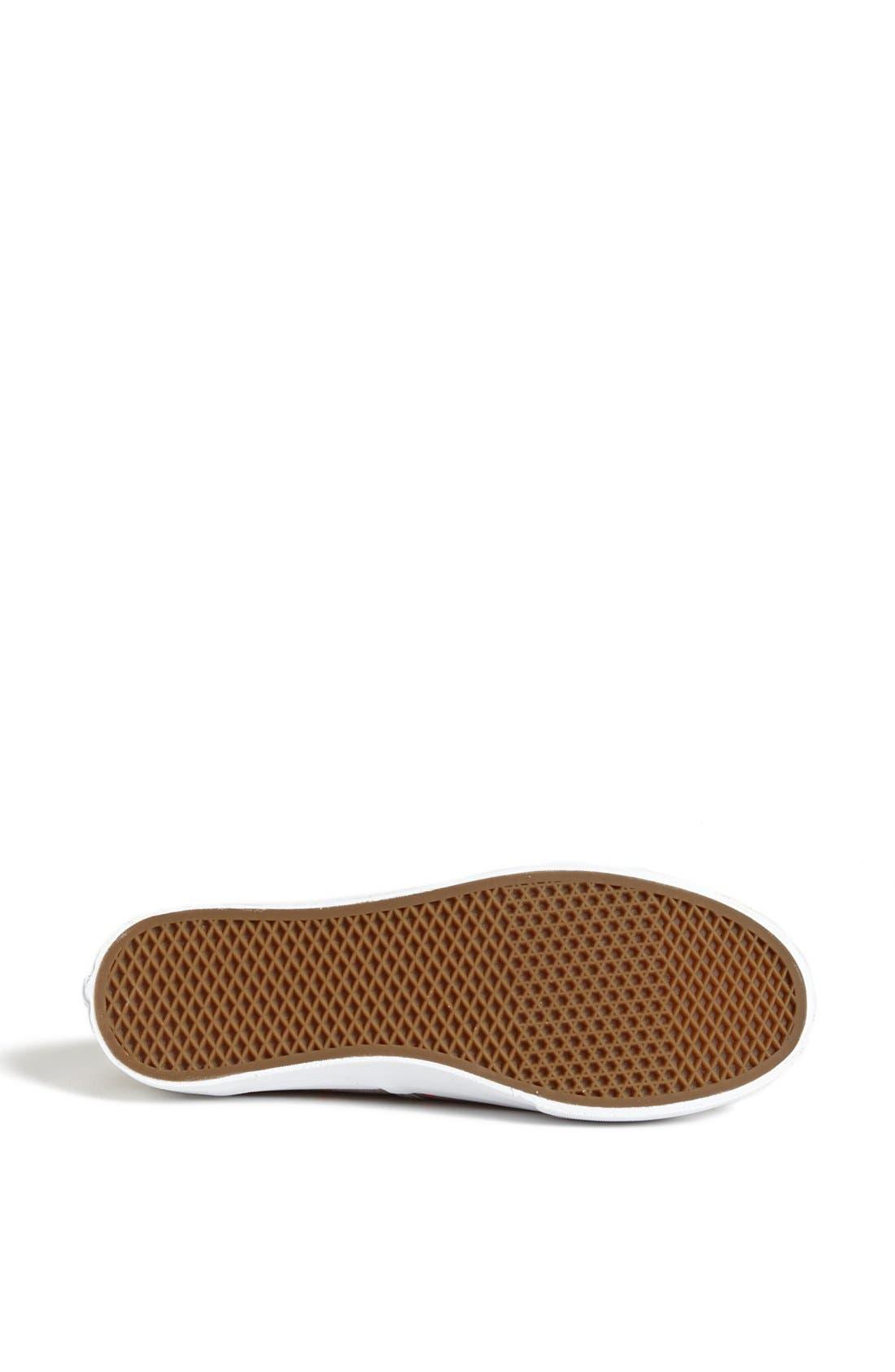 Alternate Image 4  - Vans 'Authentic - Slim'  Sneaker (Women)