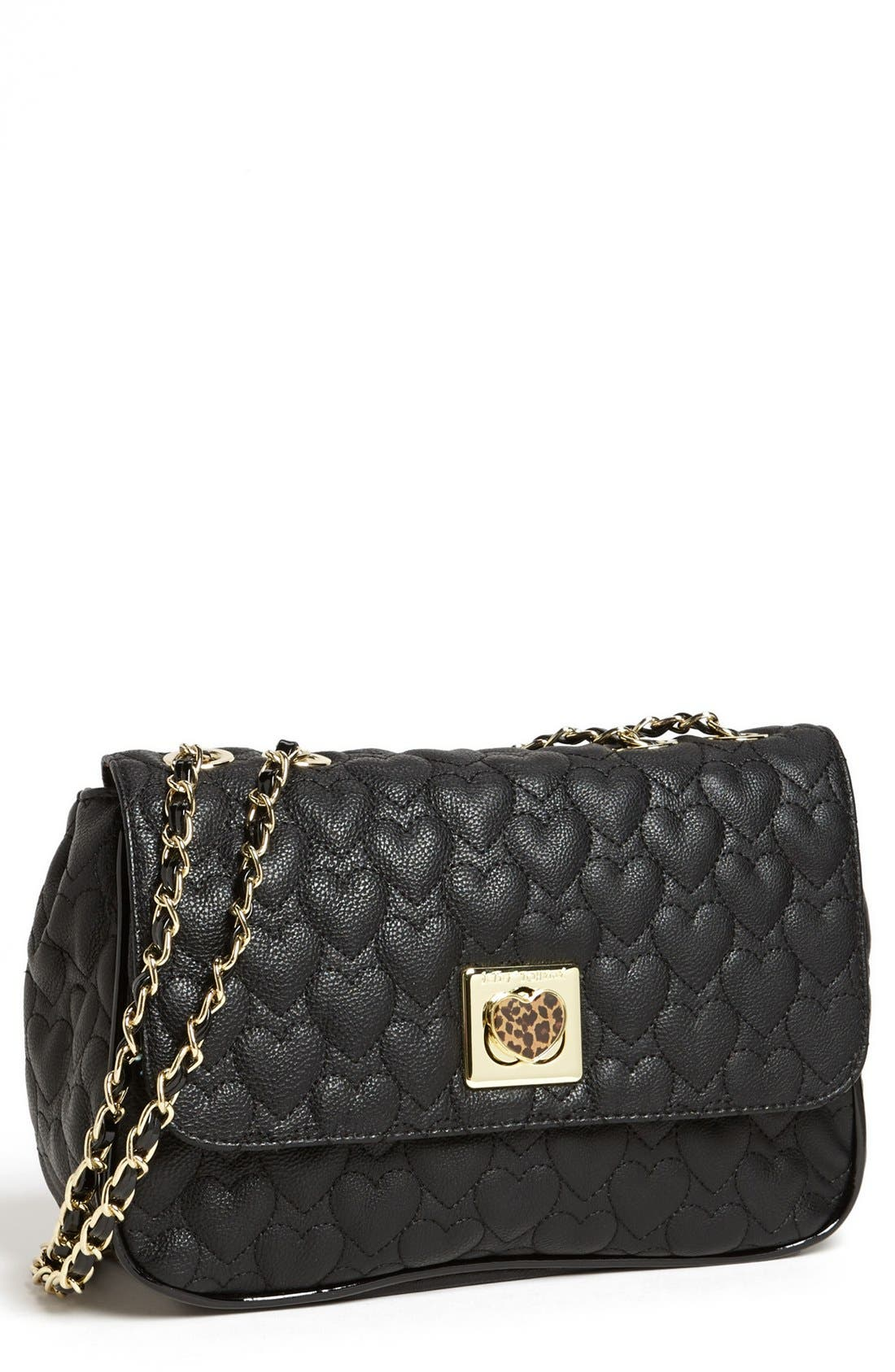 Main Image - Betsey Johnson 'Will You Be Mine' Crossbody Bag