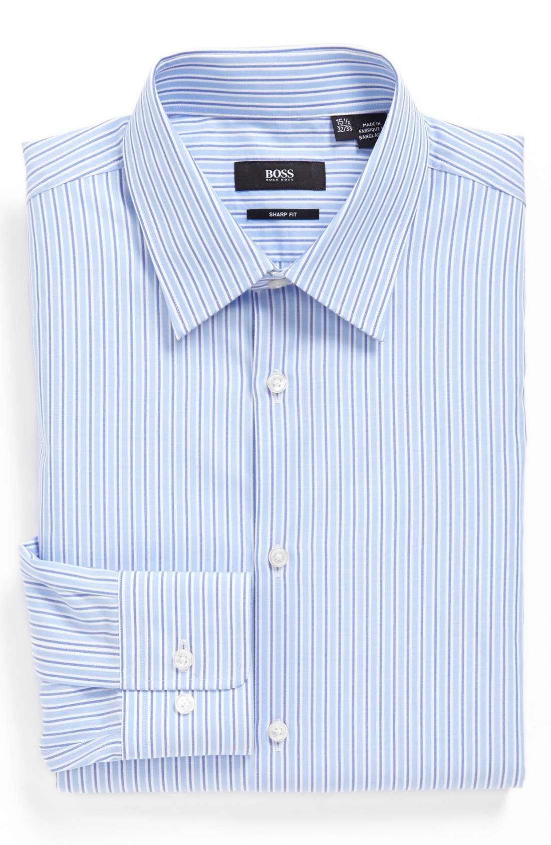 Alternate Image 1 Selected - BOSS HUGO BOSS 'Marlow' Sharp Fit Dress Shirt