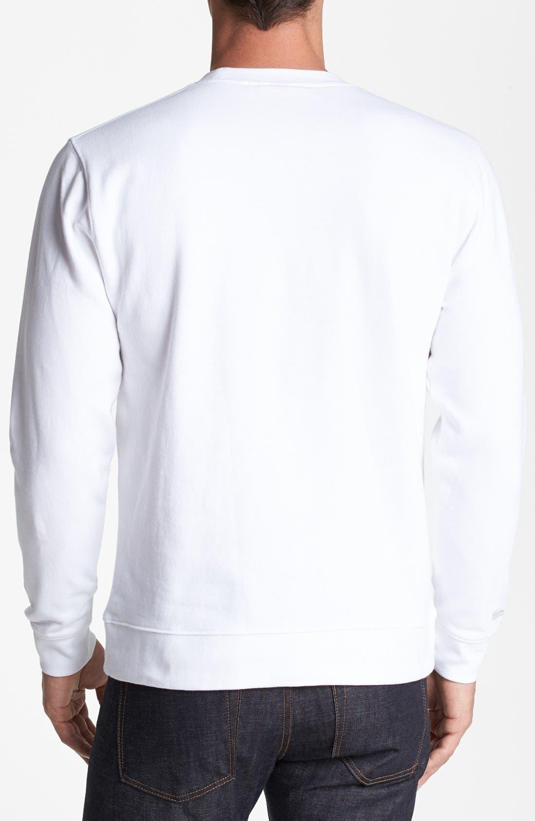 Alternate Image 2  - Mitchell & Ness 'San Antonio Spurs' Sweatshirt