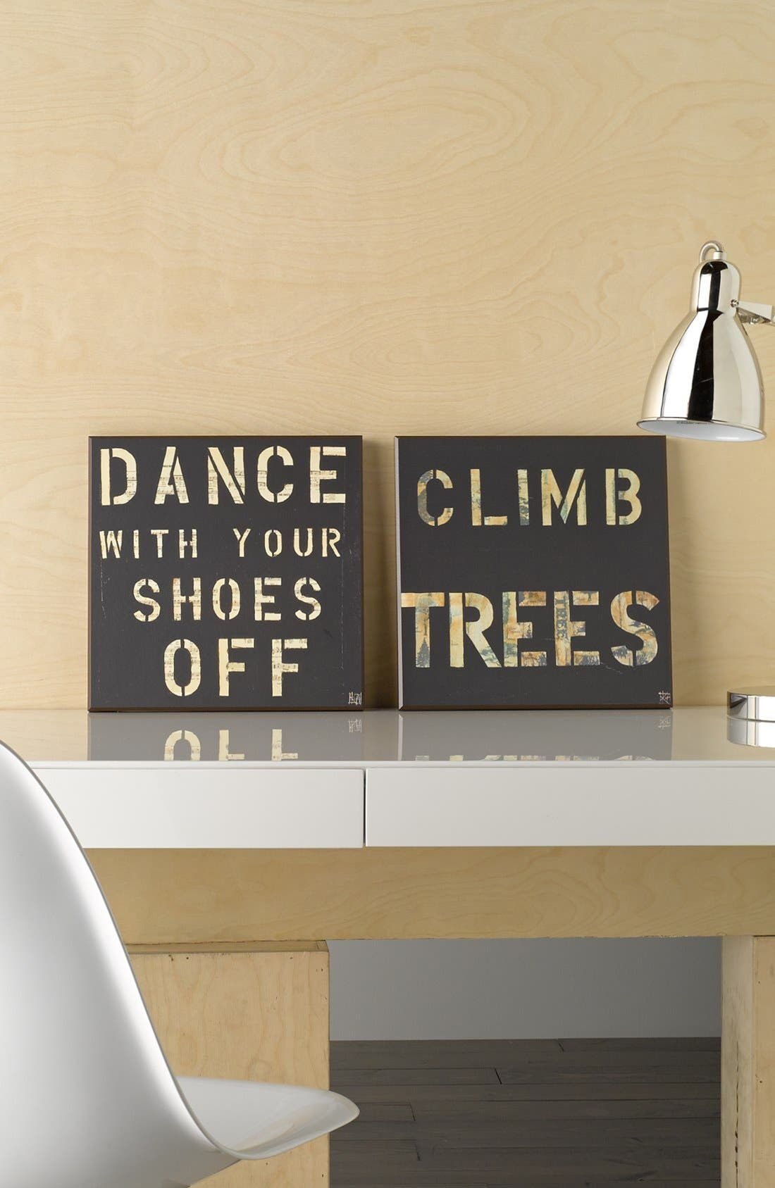 Alternate Image 2  - Third and Wall Art 'Dance With Your Shoes Off' Wall Art
