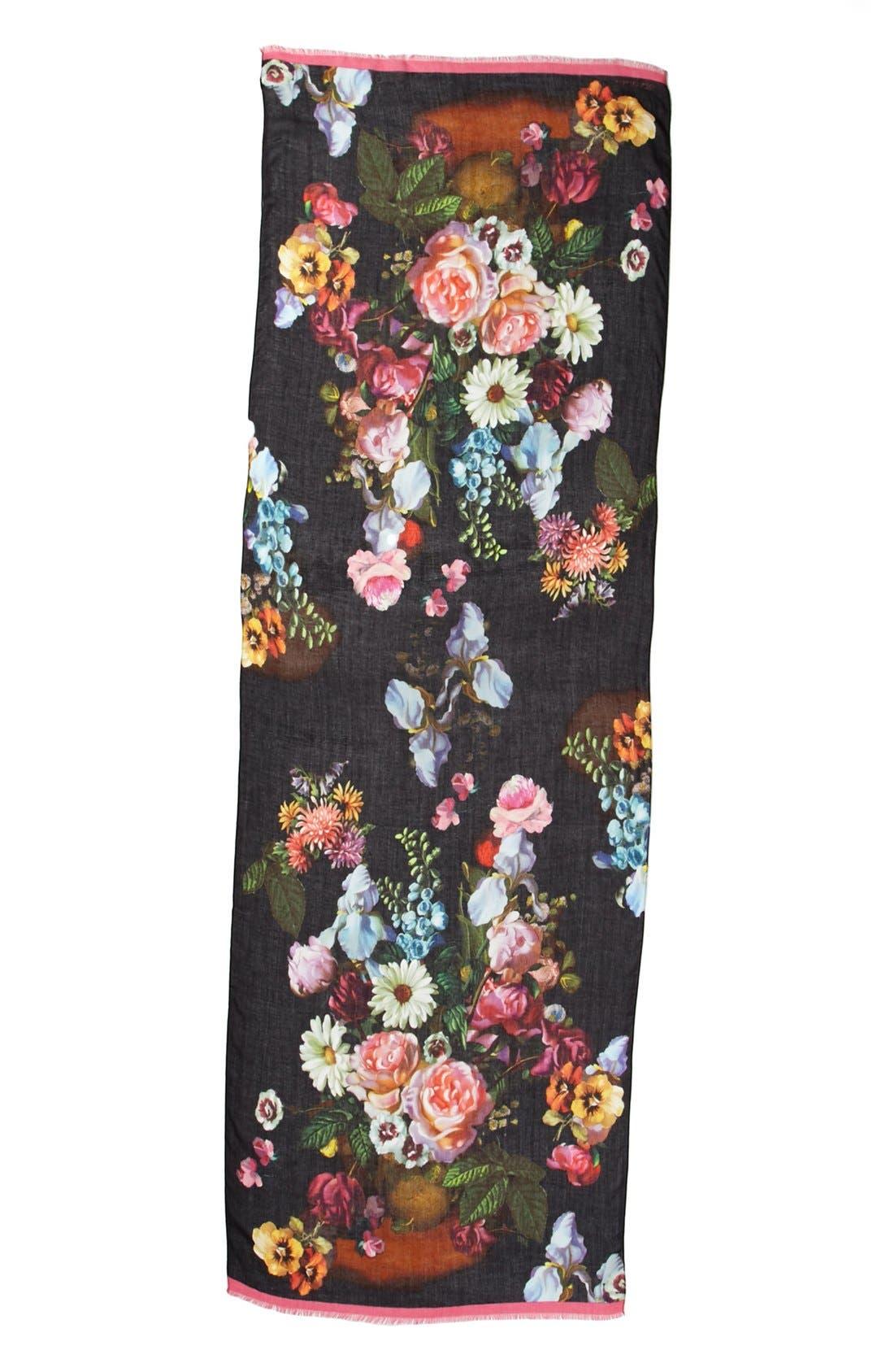 Alternate Image 2  - Ted Baker London Floral Print Scarf
