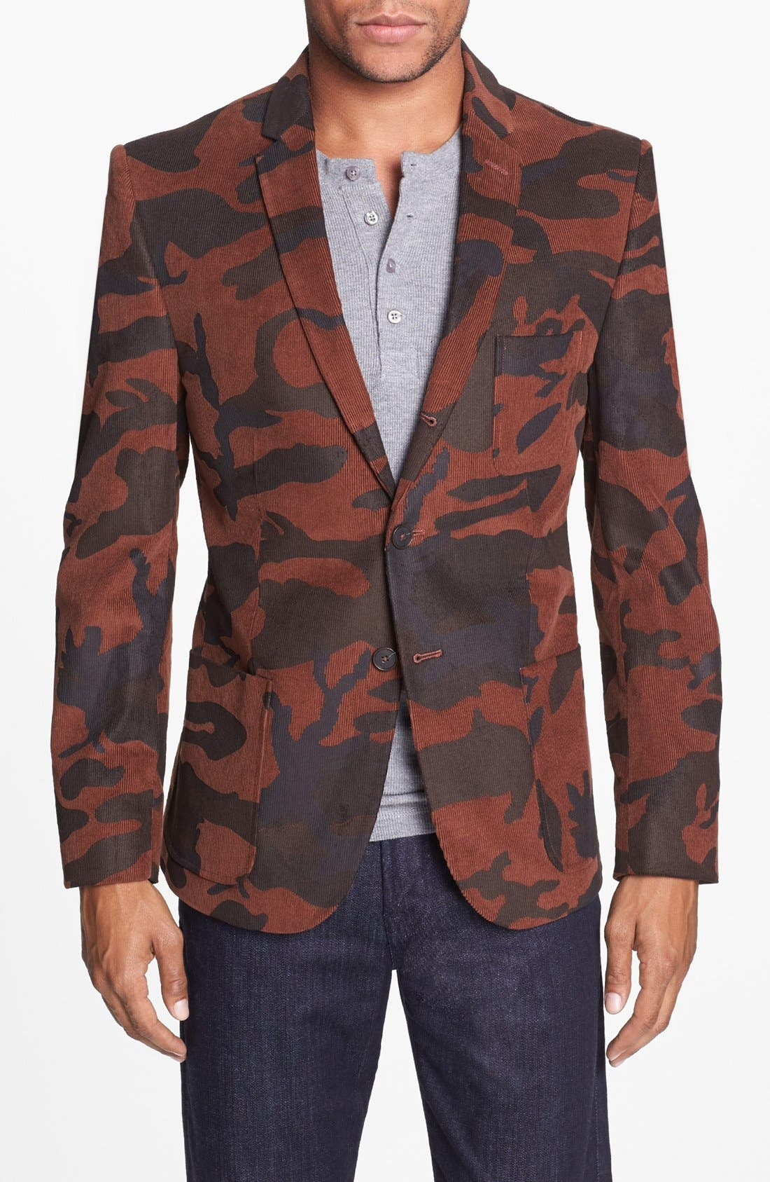 Alternate Image 1 Selected - Dockers® Camo Print Cotton Three-Button Blazer