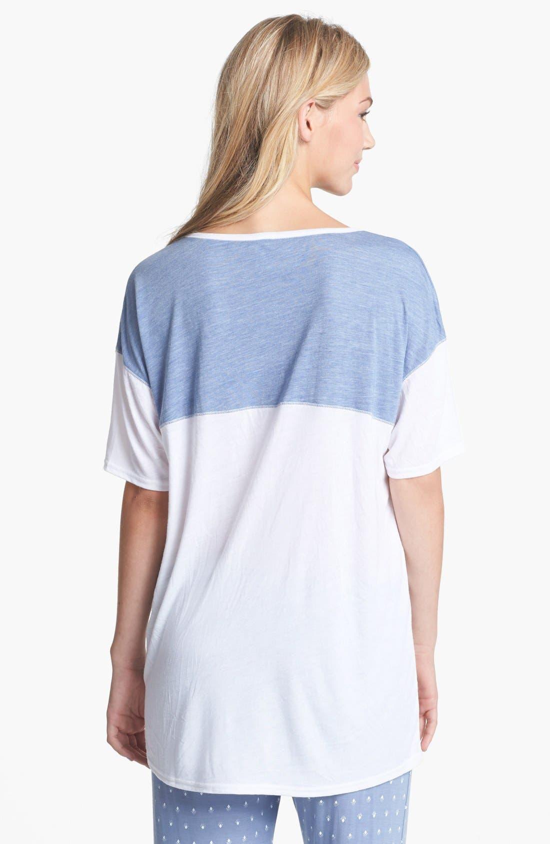 Alternate Image 2  - BP. Undercover 'Rookie' Sleep Shirt (Juniors)