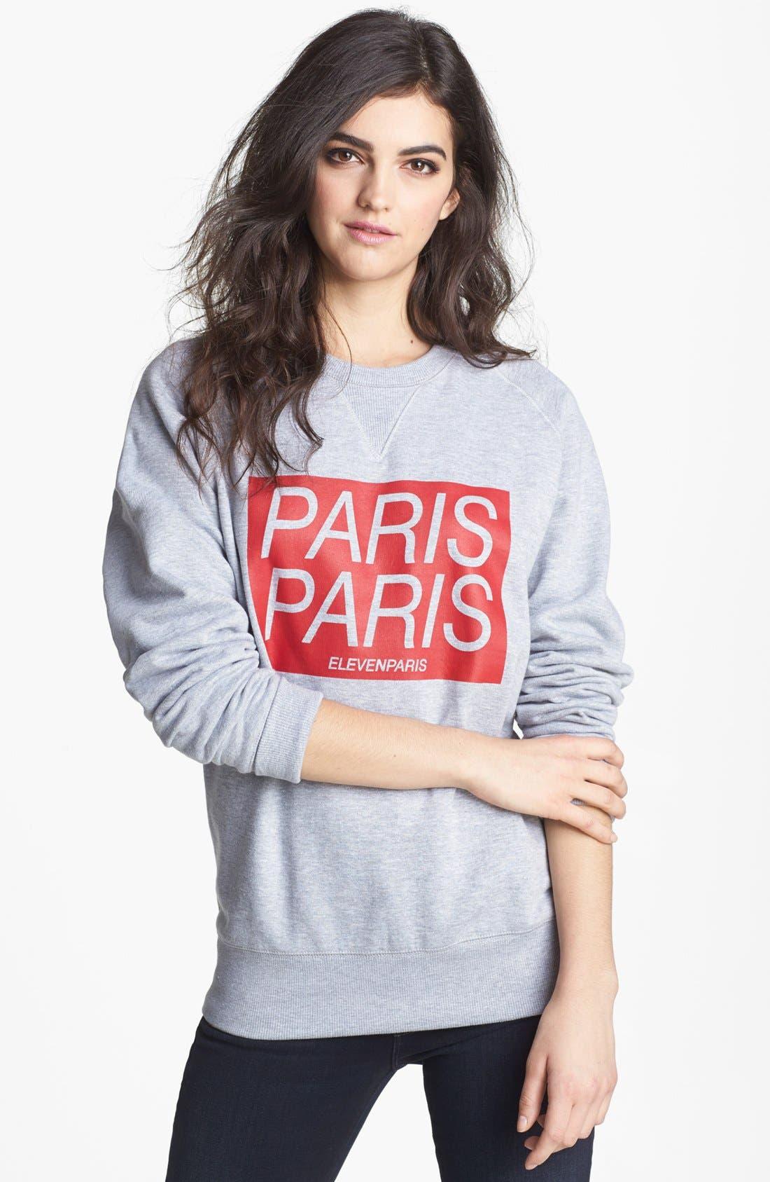 Main Image - ELEVENPARIS 'Paris Titan' Sweatshirt
