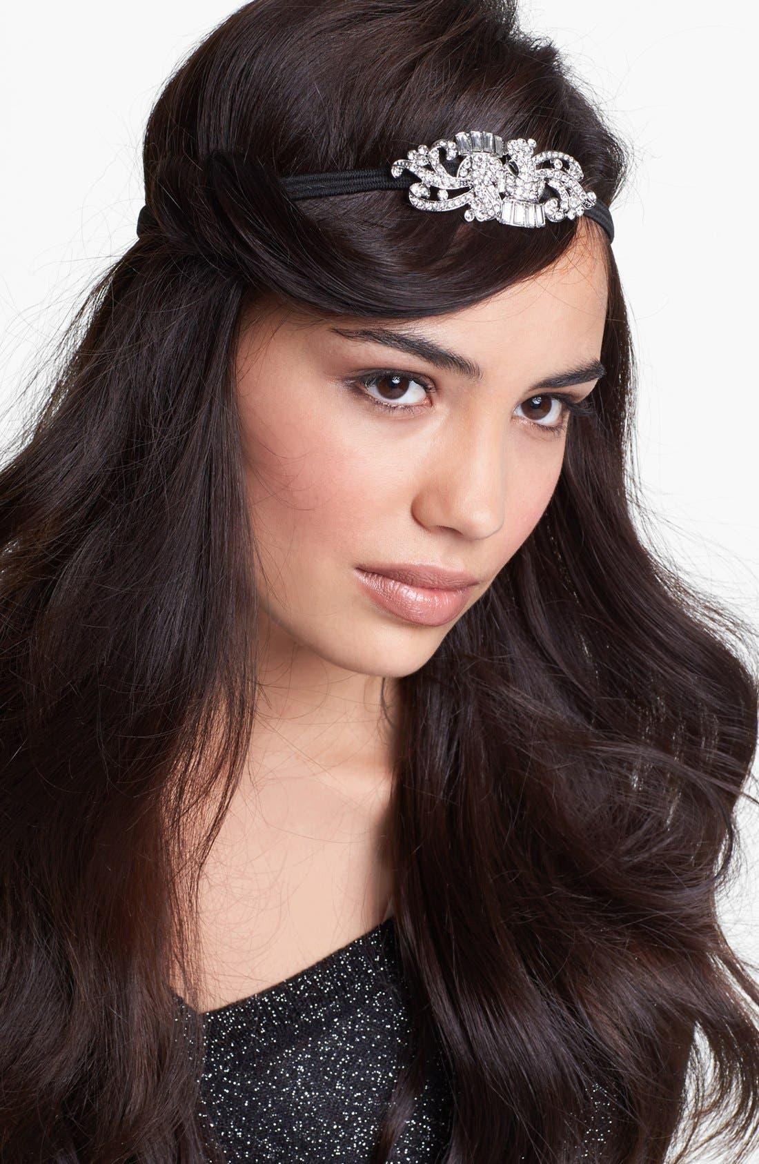 Alternate Image 1 Selected - Cara 'Maxine' Crystal Head Wrap
