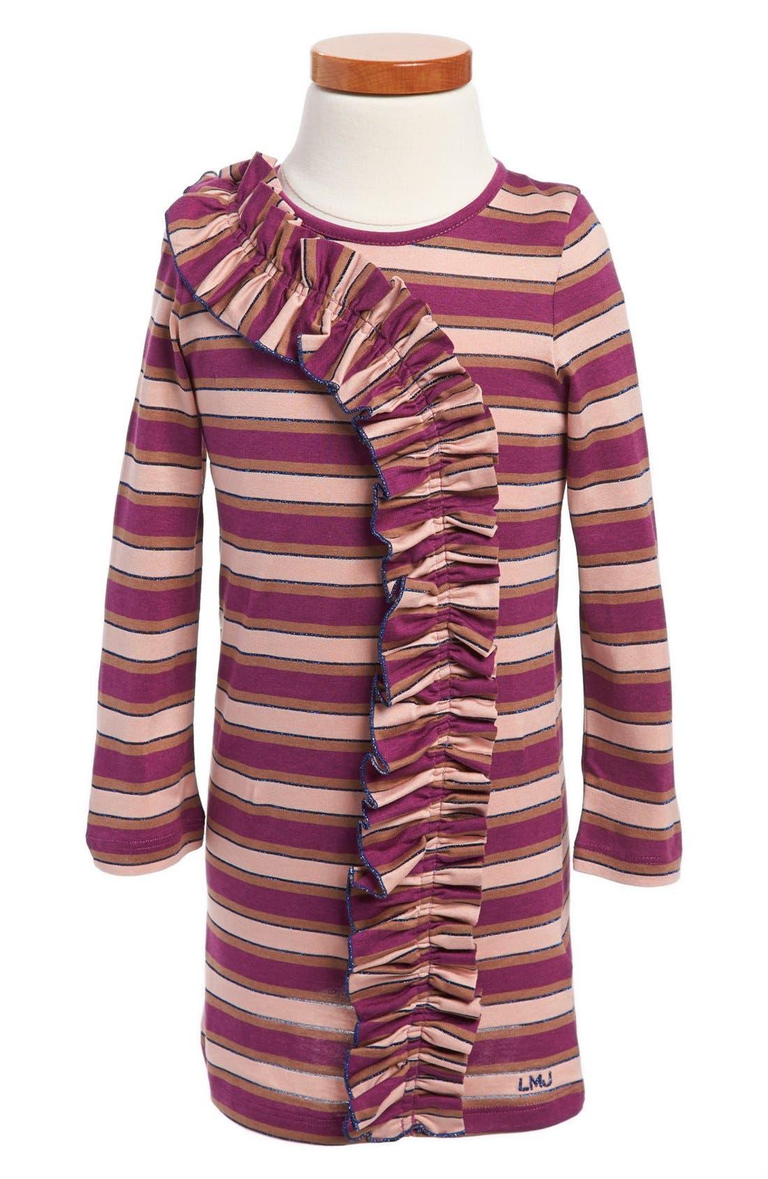Alternate Image 1 Selected - LITTLE MARC JACOBS Long Sleeve Dress (Toddler Girls)