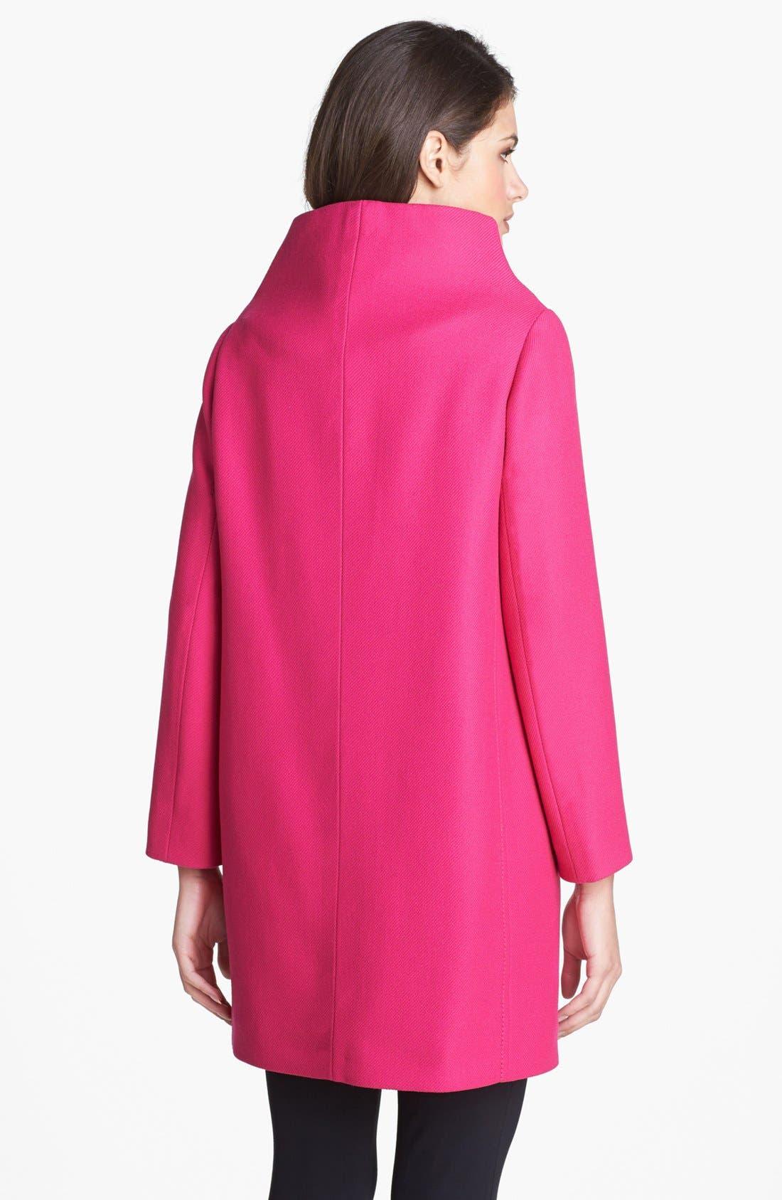 Alternate Image 2  - kate spade new york 'etta' wool coat