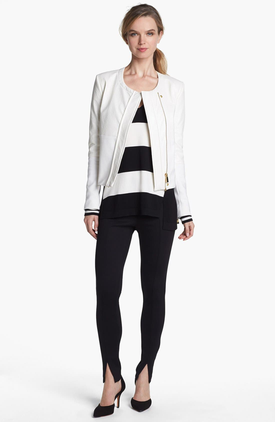 Alternate Image 1 Selected - Vince Camuto Moto Jacket