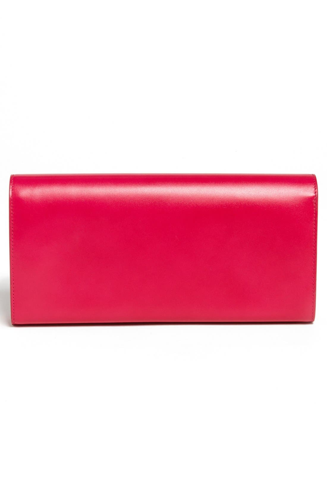 Alternate Image 4  - Saint Laurent 'Cassandre Monet' Leather Clutch