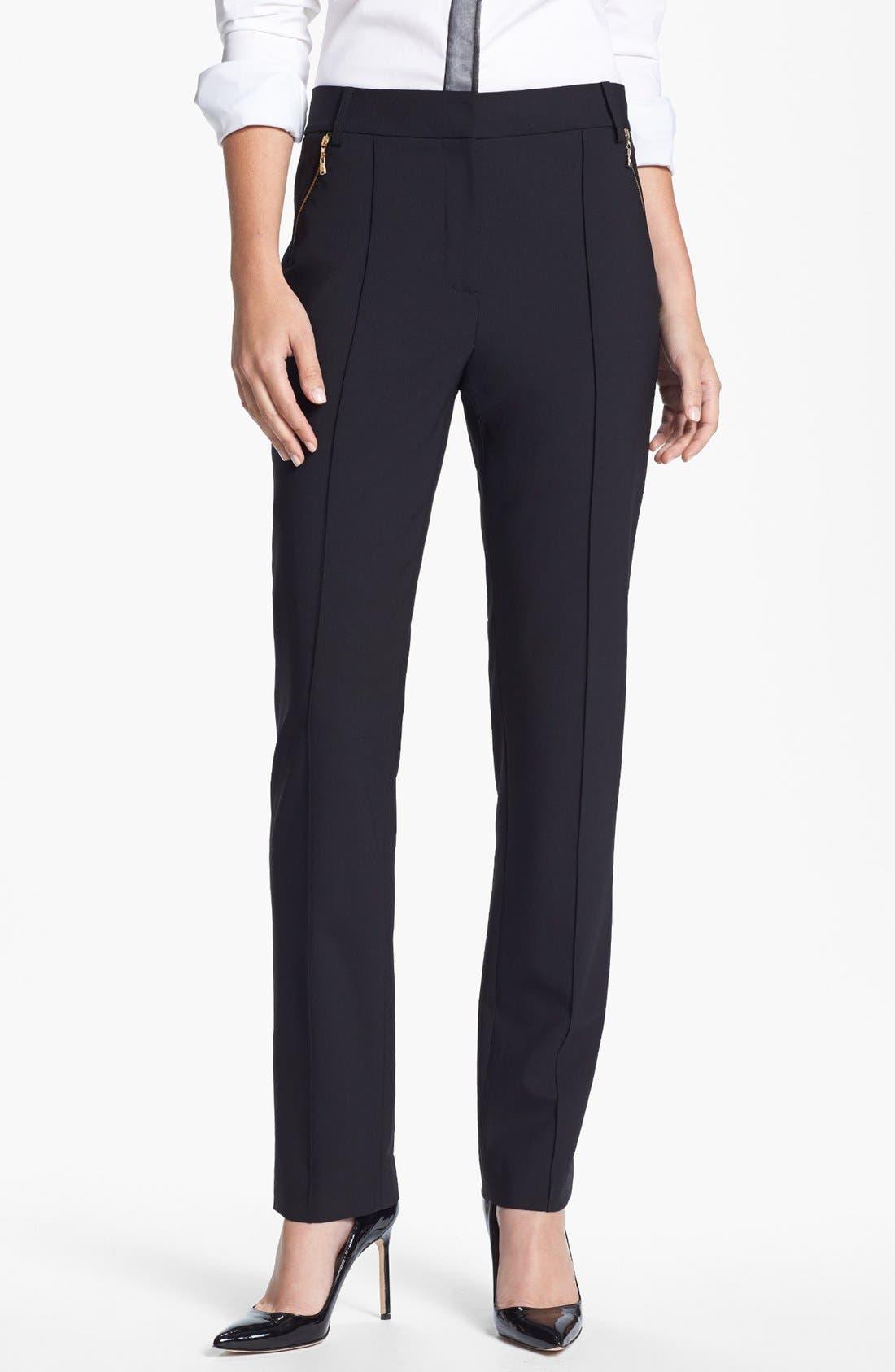 Alternate Image 1 Selected - Rachel Roy Zip Pocket Trousers