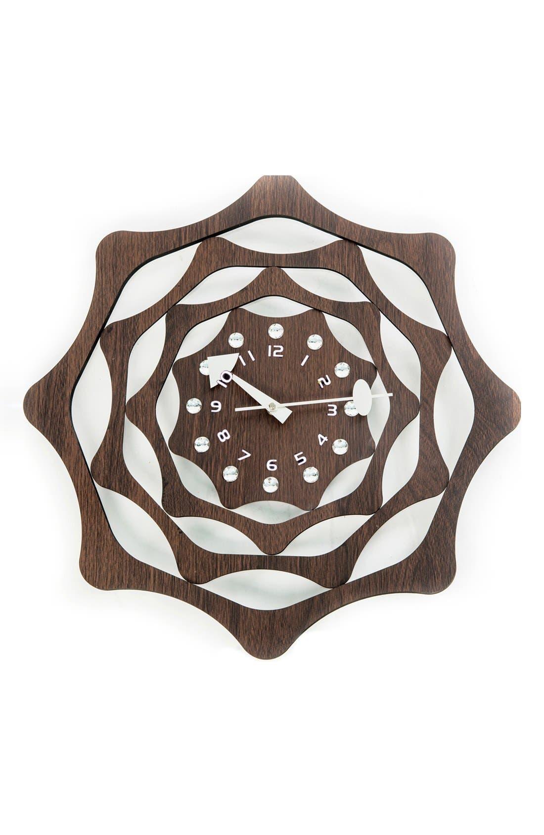 Main Image - World Friendly World 'Webb' Wall Clock