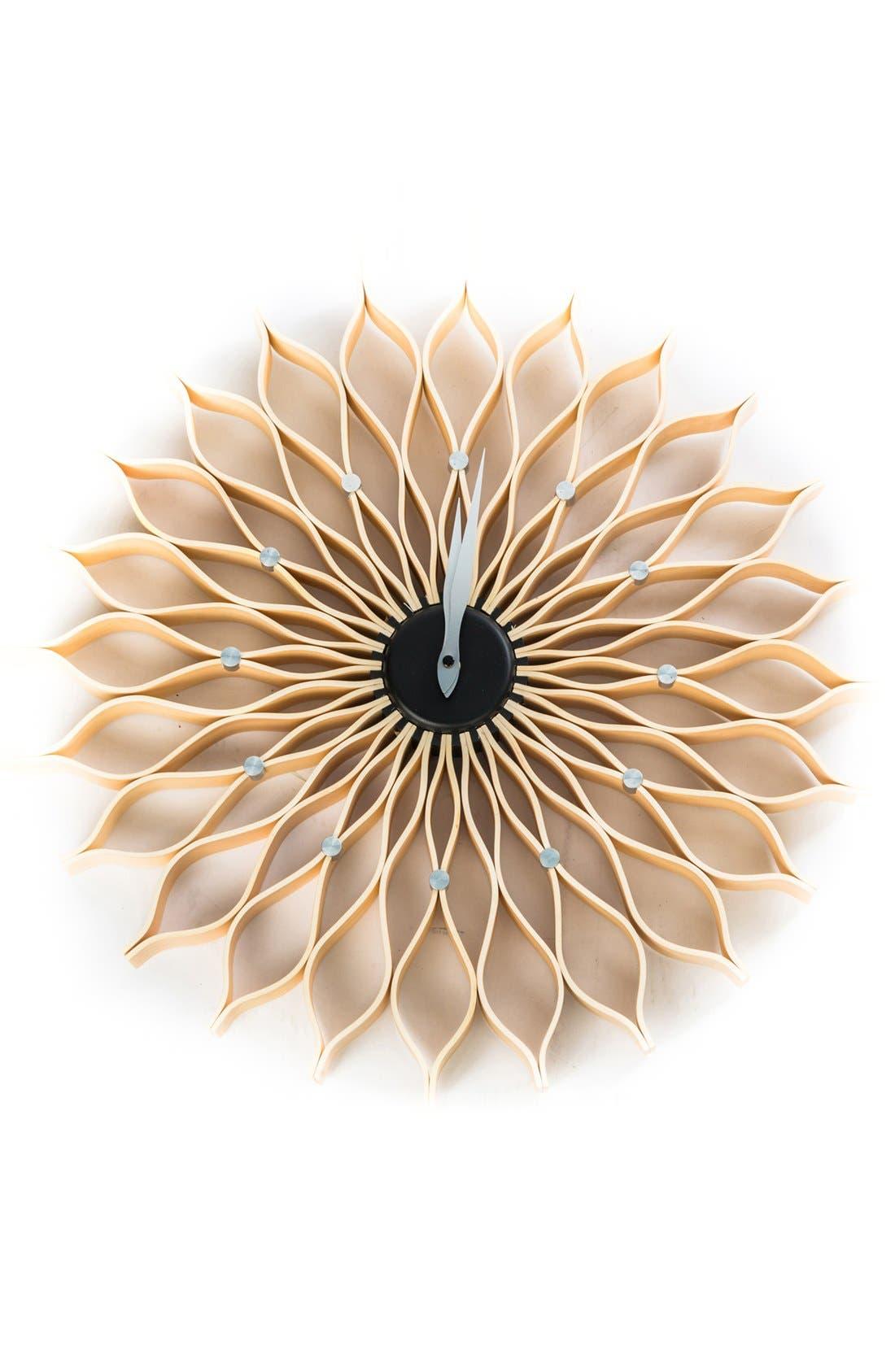 Alternate Image 1 Selected - World Friendly World 'Sunflower' Wall Clock