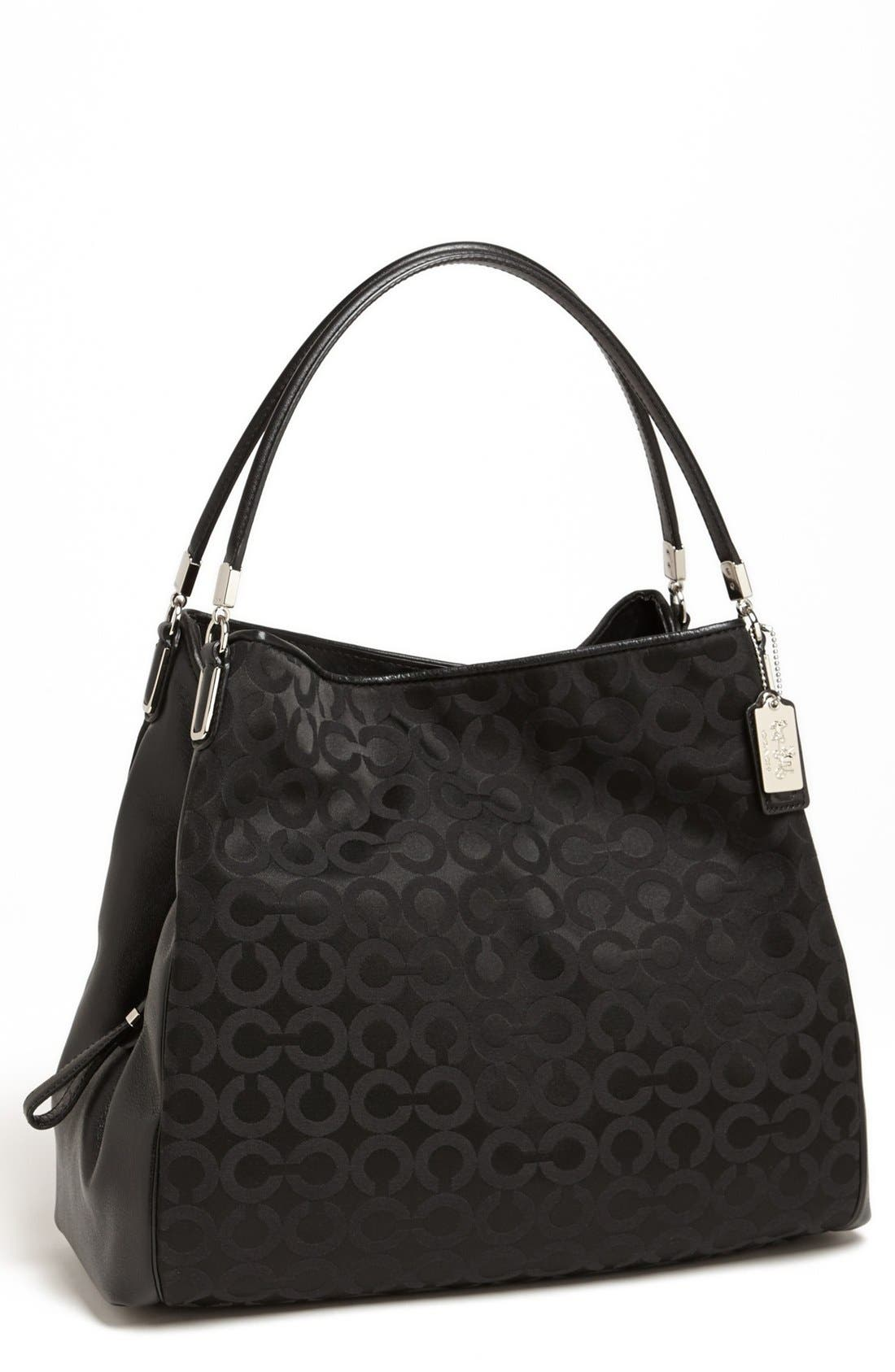Main Image - COACH 'Madison - Phoebe' Leather Shoulder Bag