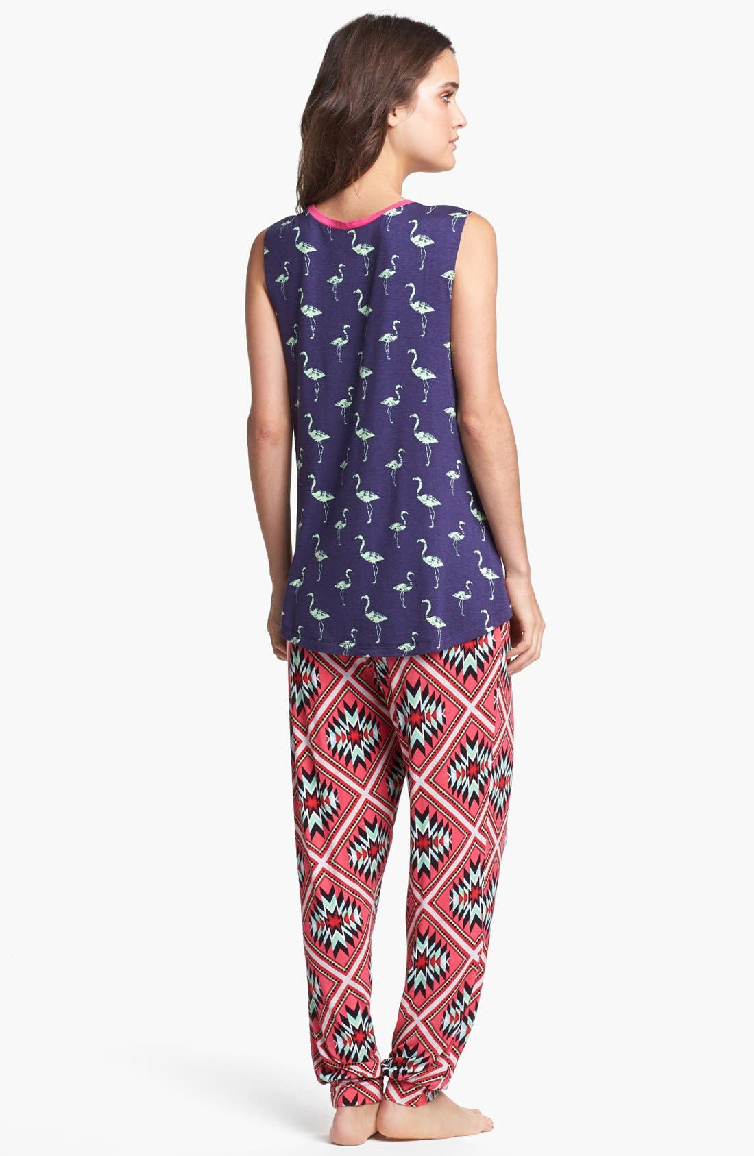 Alternate Image 4  - Sleep'N Round Harem Pajama Pants
