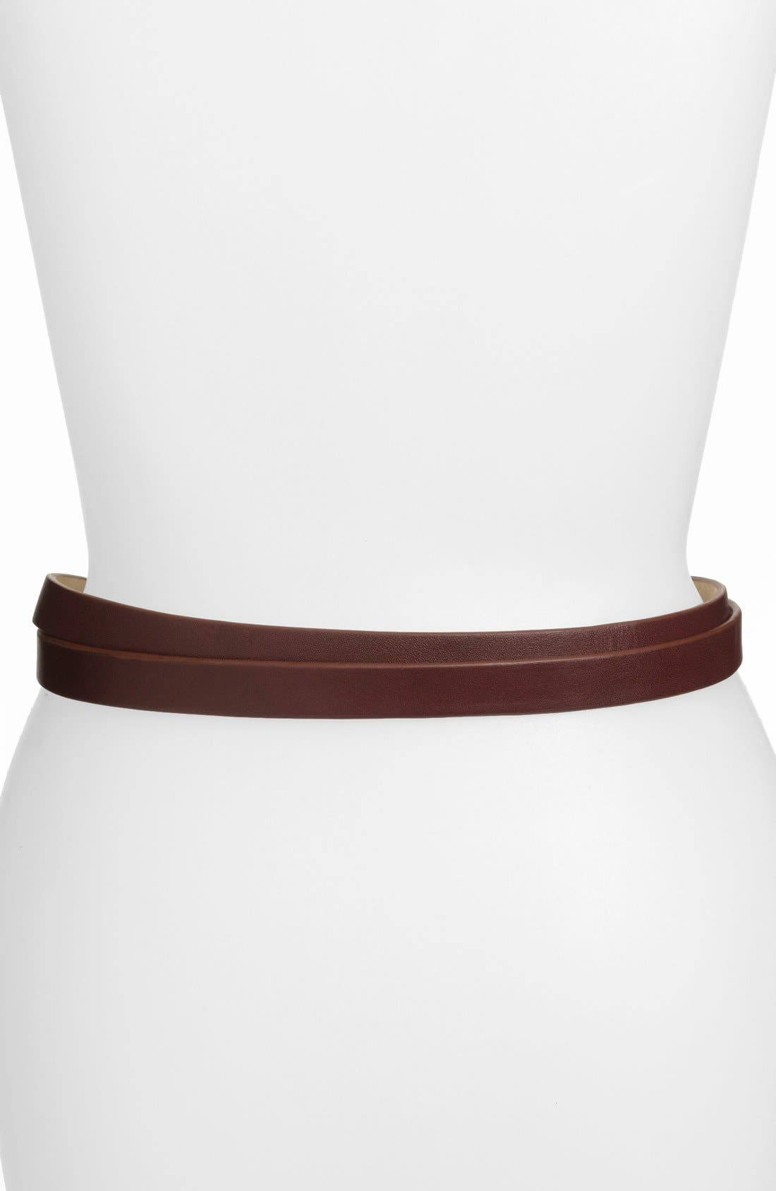 Alternate Image 2  - MARC BY MARC JACOBS Double Wrap Leather Belt