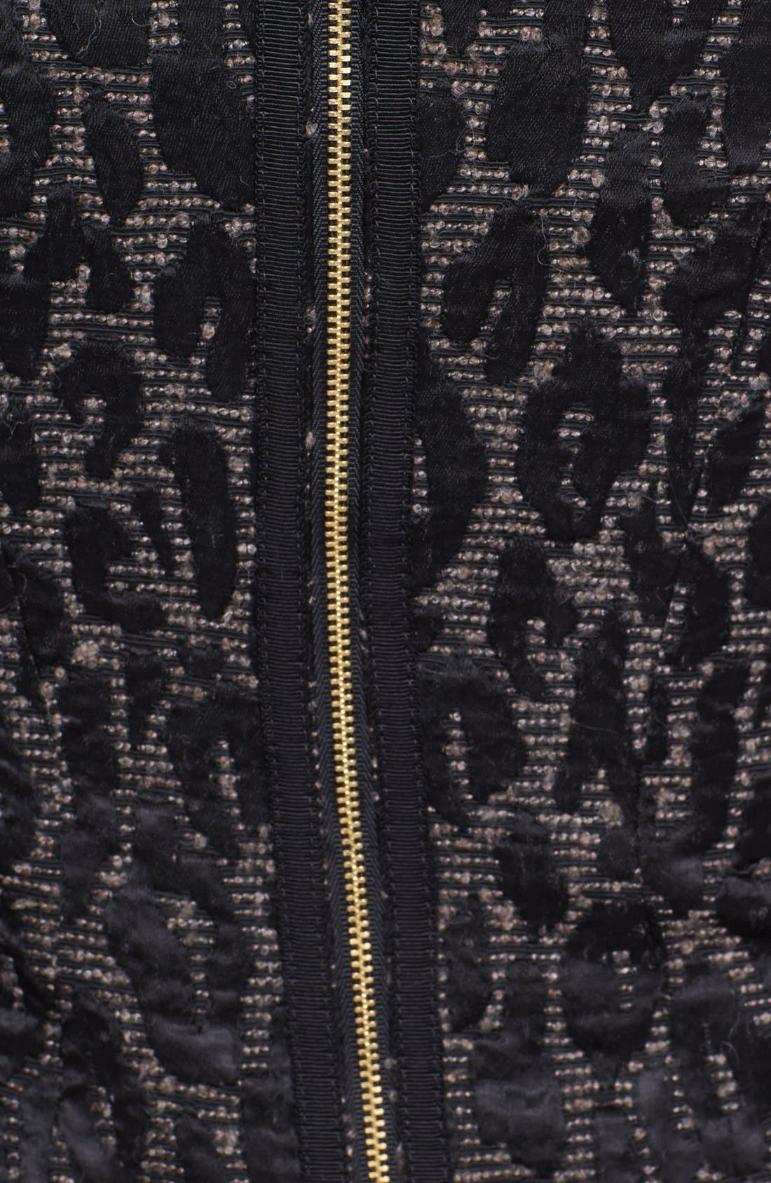 Alternate Image 3  - Trina Turk 'Sharise' Jacquard Sheath Dress