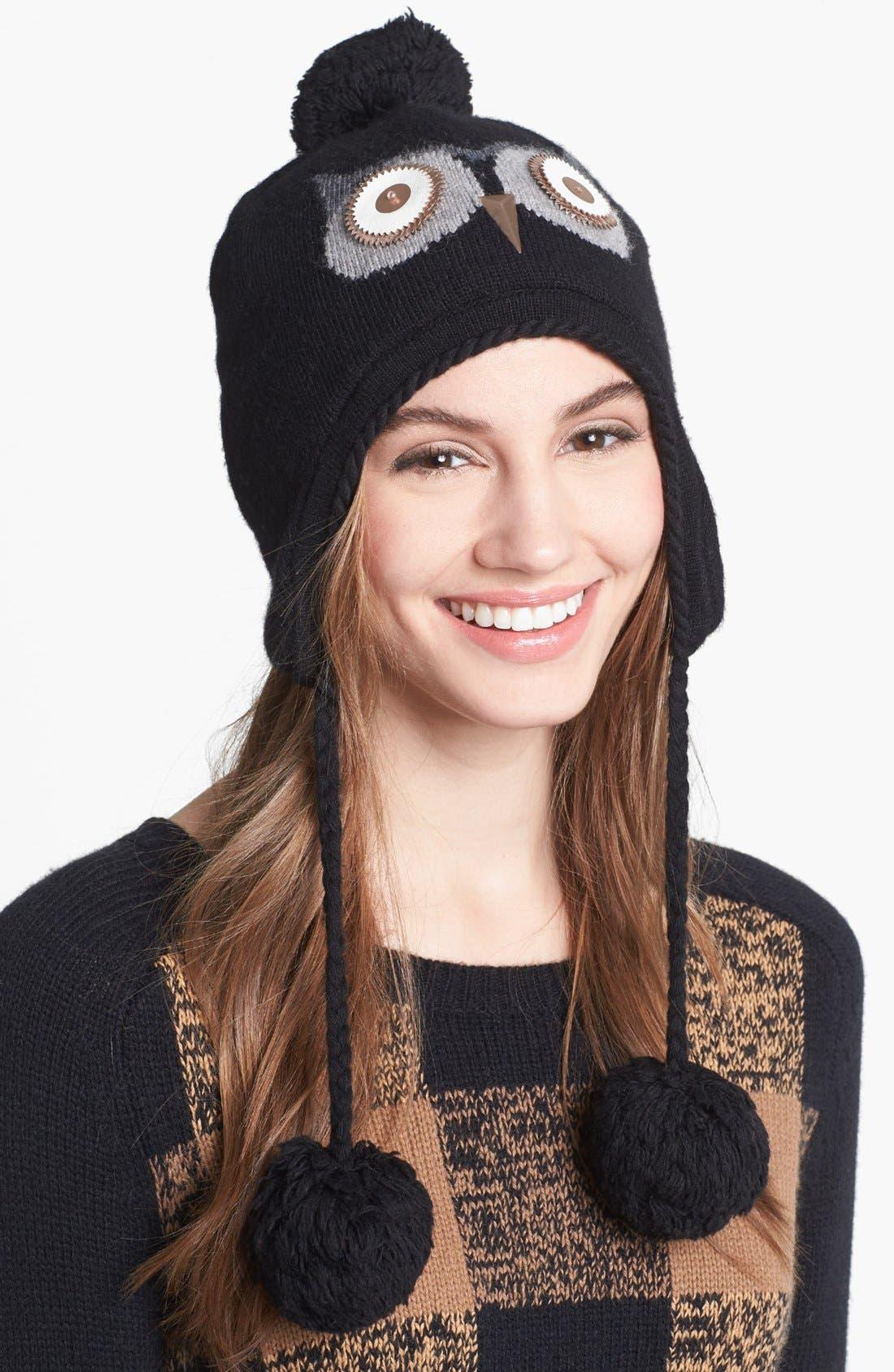 Main Image - kate spade new york 'night owl' hat