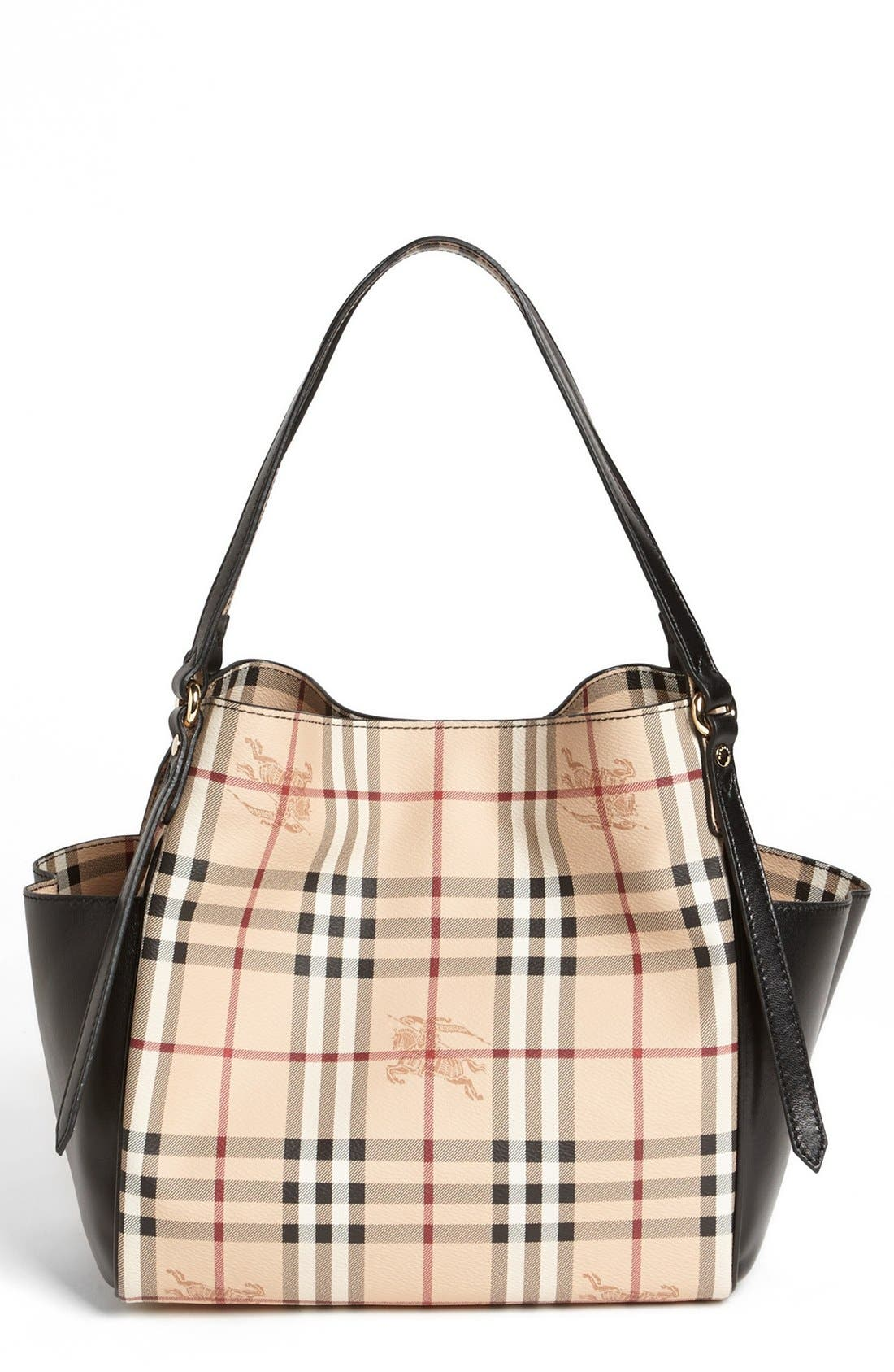 Main Image - Burberry 'Small Haymarket Canterbury' Tote
