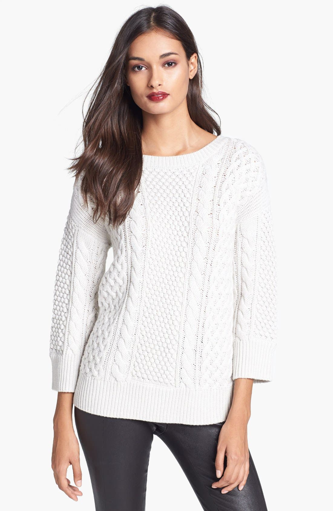 Alternate Image 1 Selected - Trina Turk 'Haya' Merino Wool Sweater