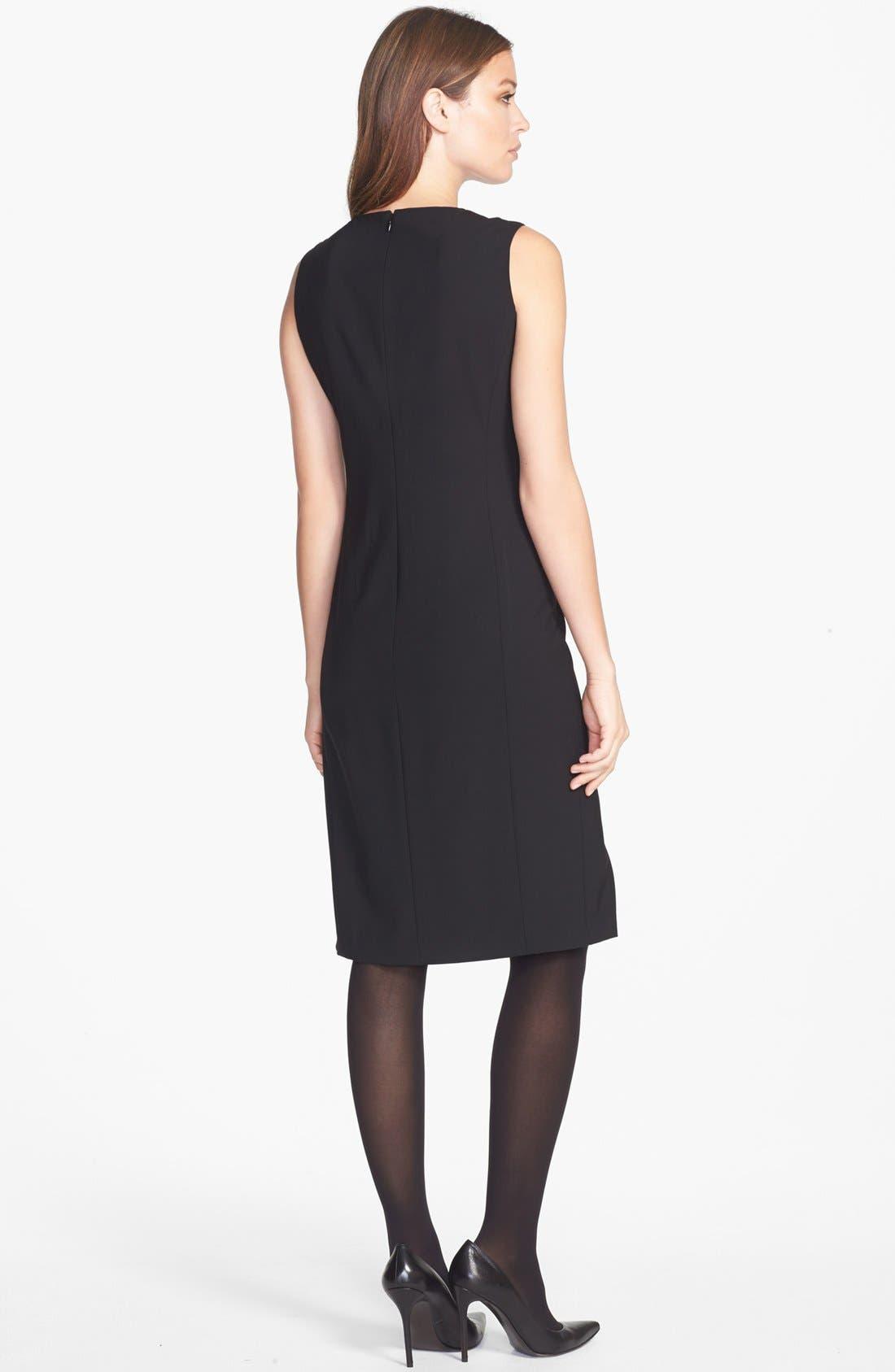 Alternate Image 2  - Lafayette 148 New York Wool Sheath Dress