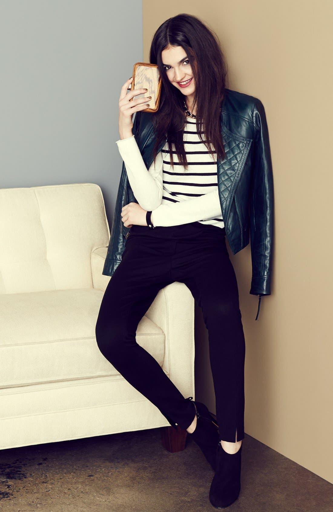 Main Image - Halogen® Jacket, Vince Camuto Sweater & Pants