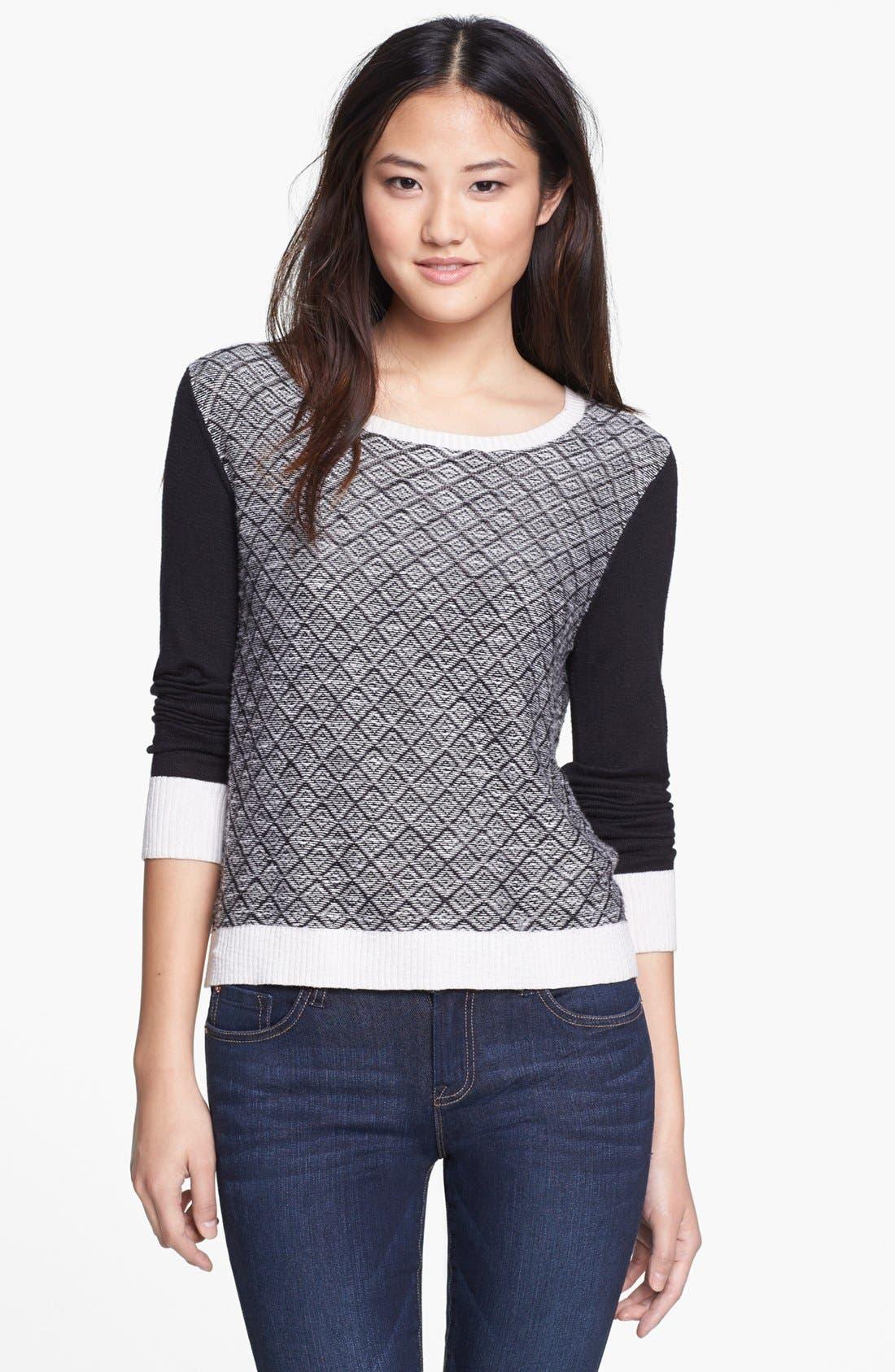 Alternate Image 1 Selected - kensie Slub Sweater
