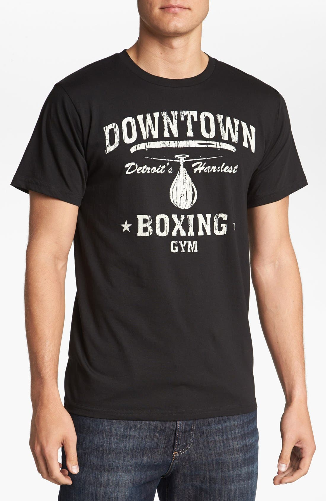 Alternate Image 1 Selected - Horses Cut Shop 'Downtown Boxing Gym' T-Shirt