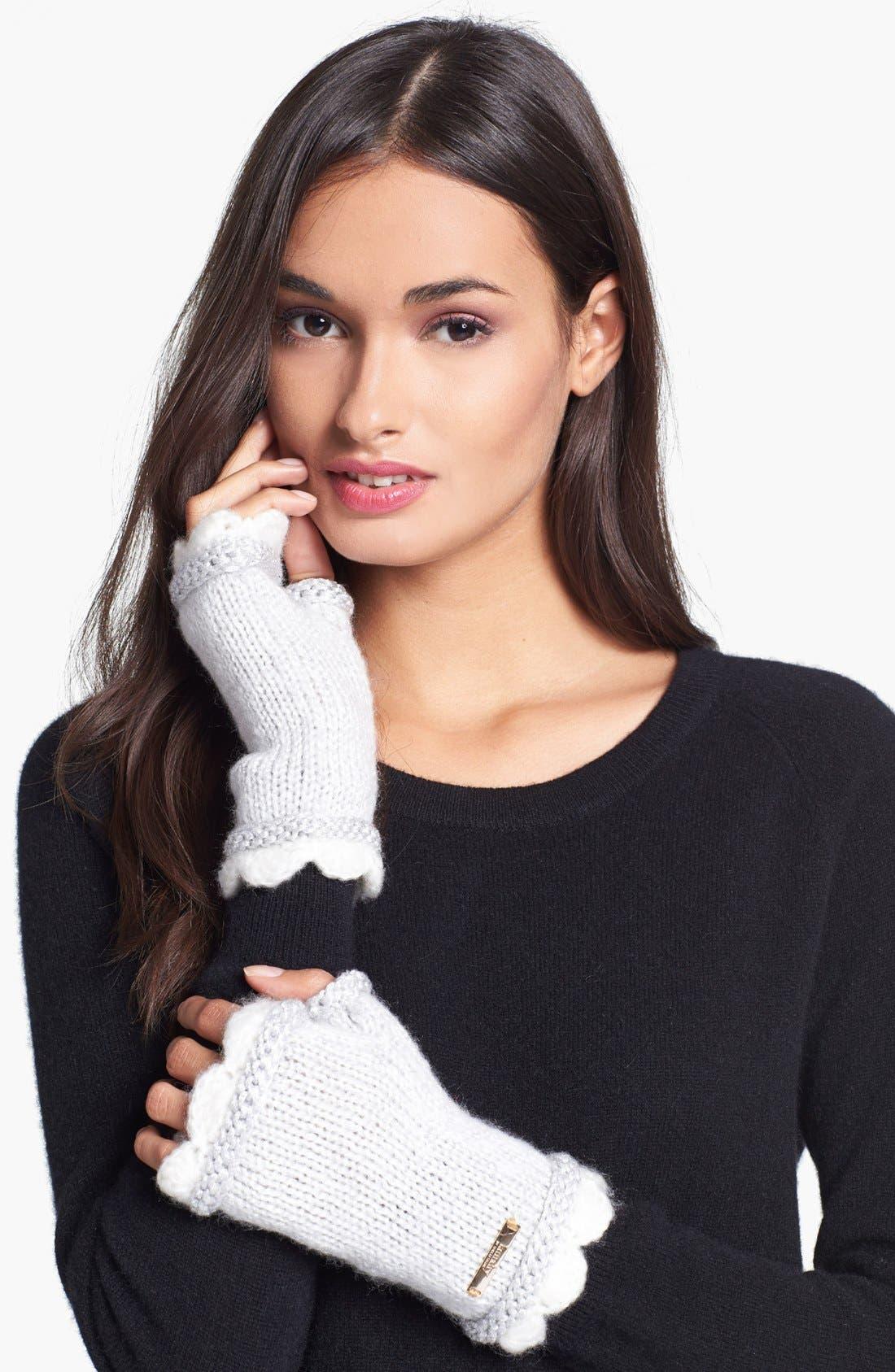 Main Image - Laundry by Shelli Segal 'Baroque Romantics' Fingerless Gloves
