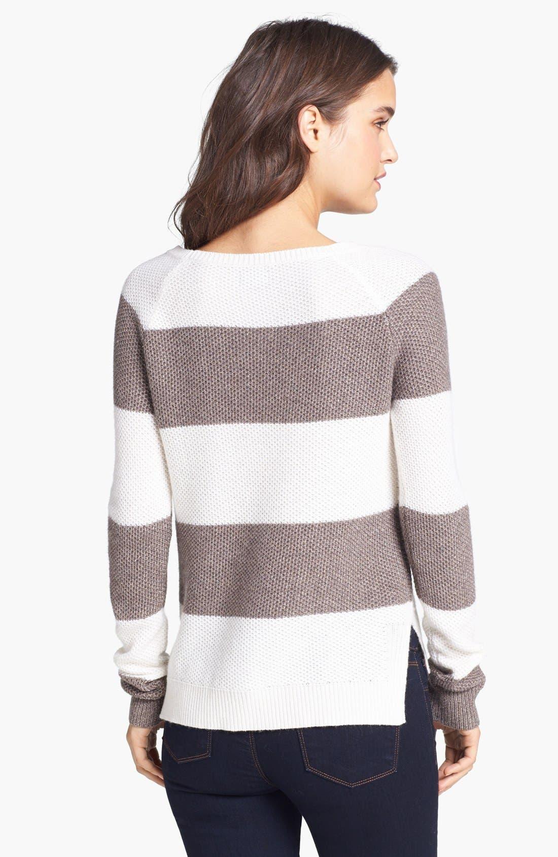 Alternate Image 2  - Splendid 'Honeycomb' Stripe Pullover