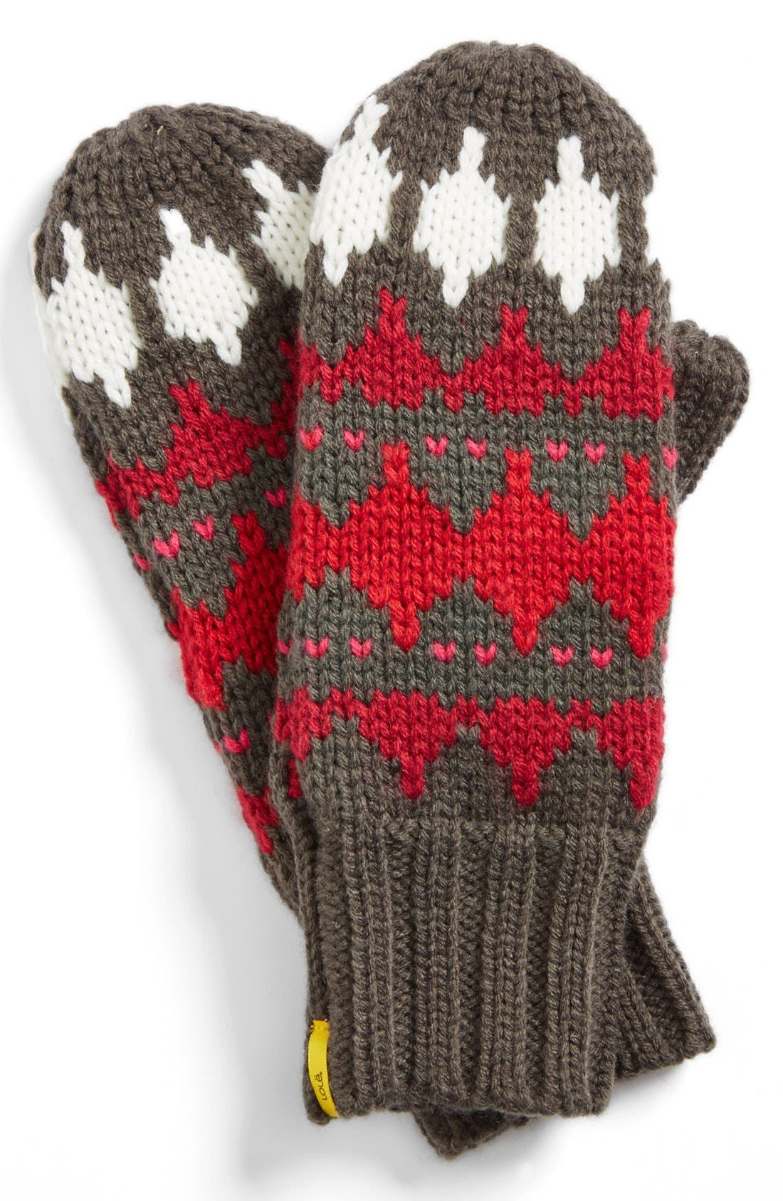 Alternate Image 1 Selected - Lole Jacquard Mittens