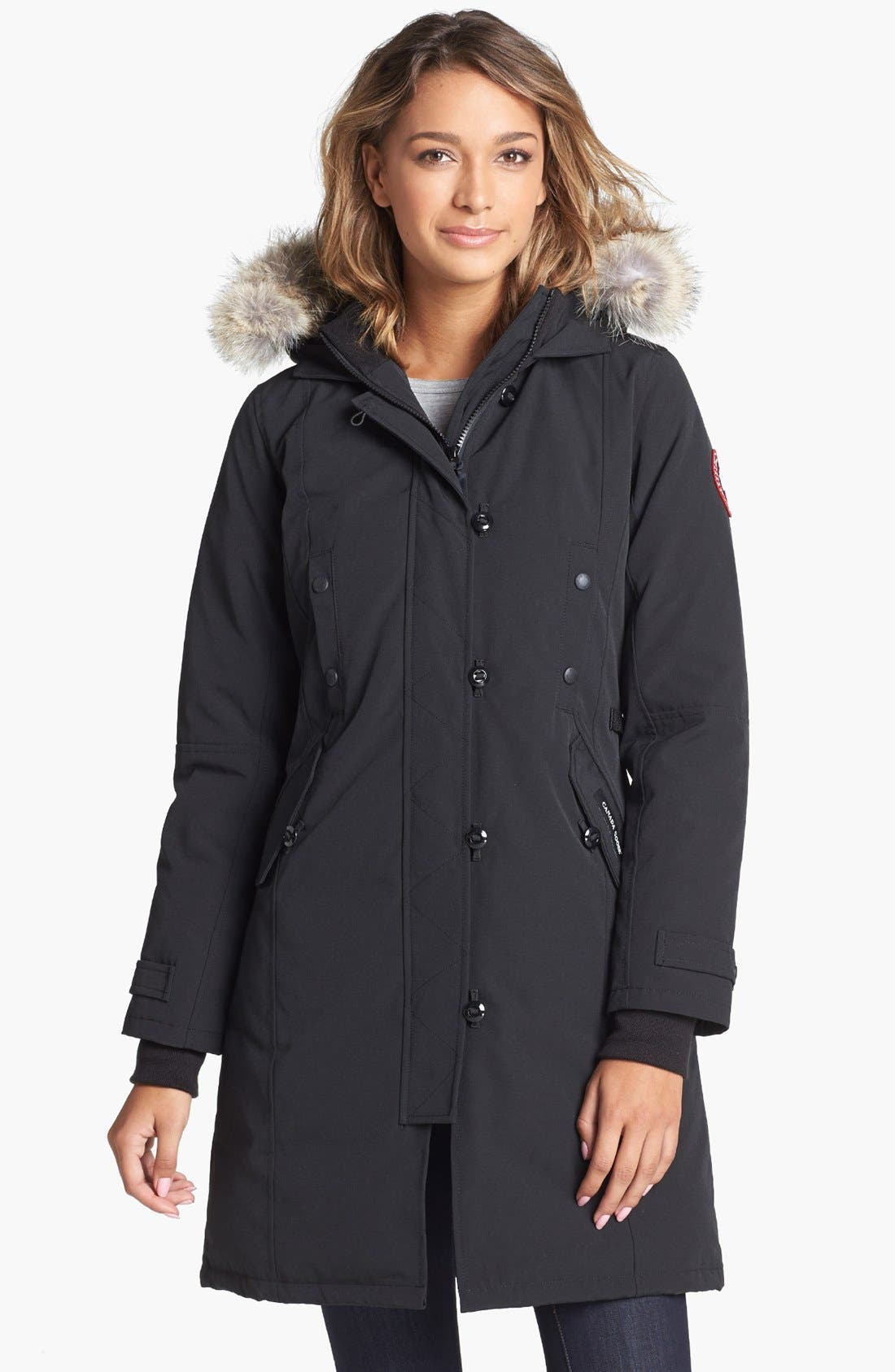 CANADA GOOSE Kensington Slim Fit Down Parka with