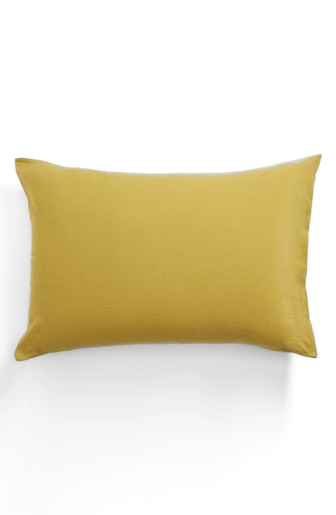 Alternate Image 1  - Merci Washed Linen Pillowcase