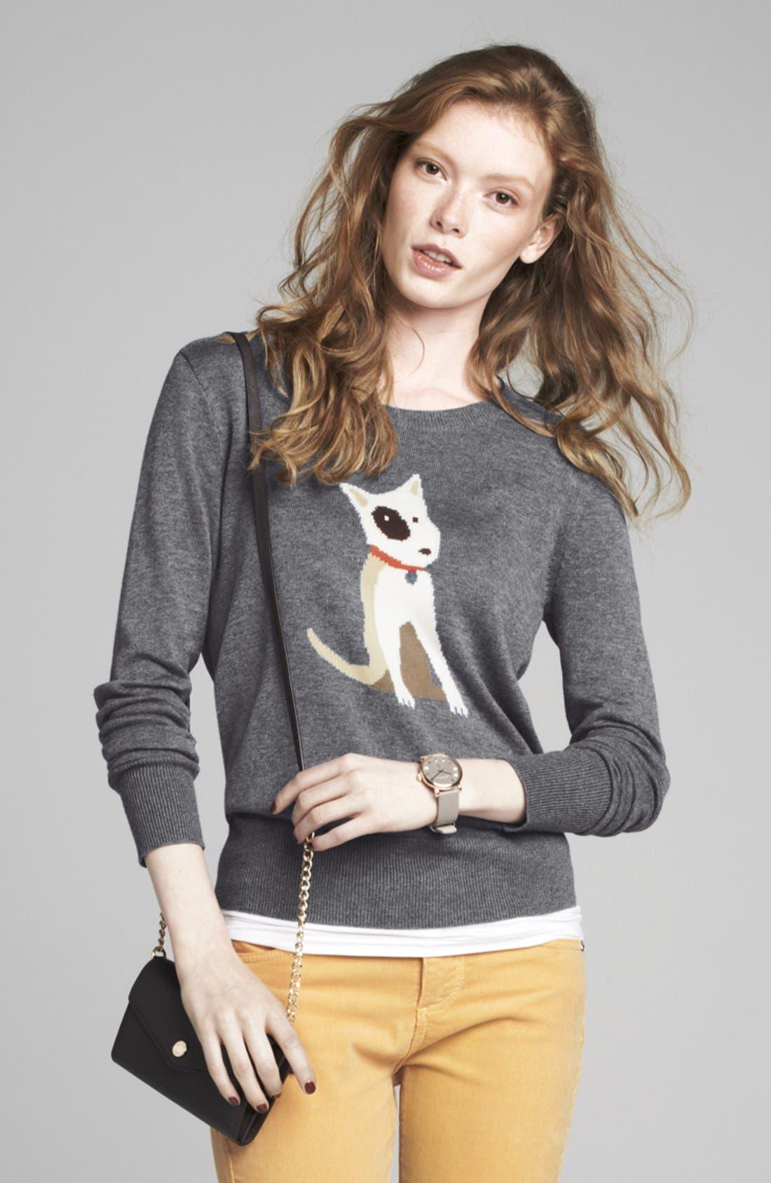 Alternate Image 6  - Halogen® Intarsia Knit Sweater