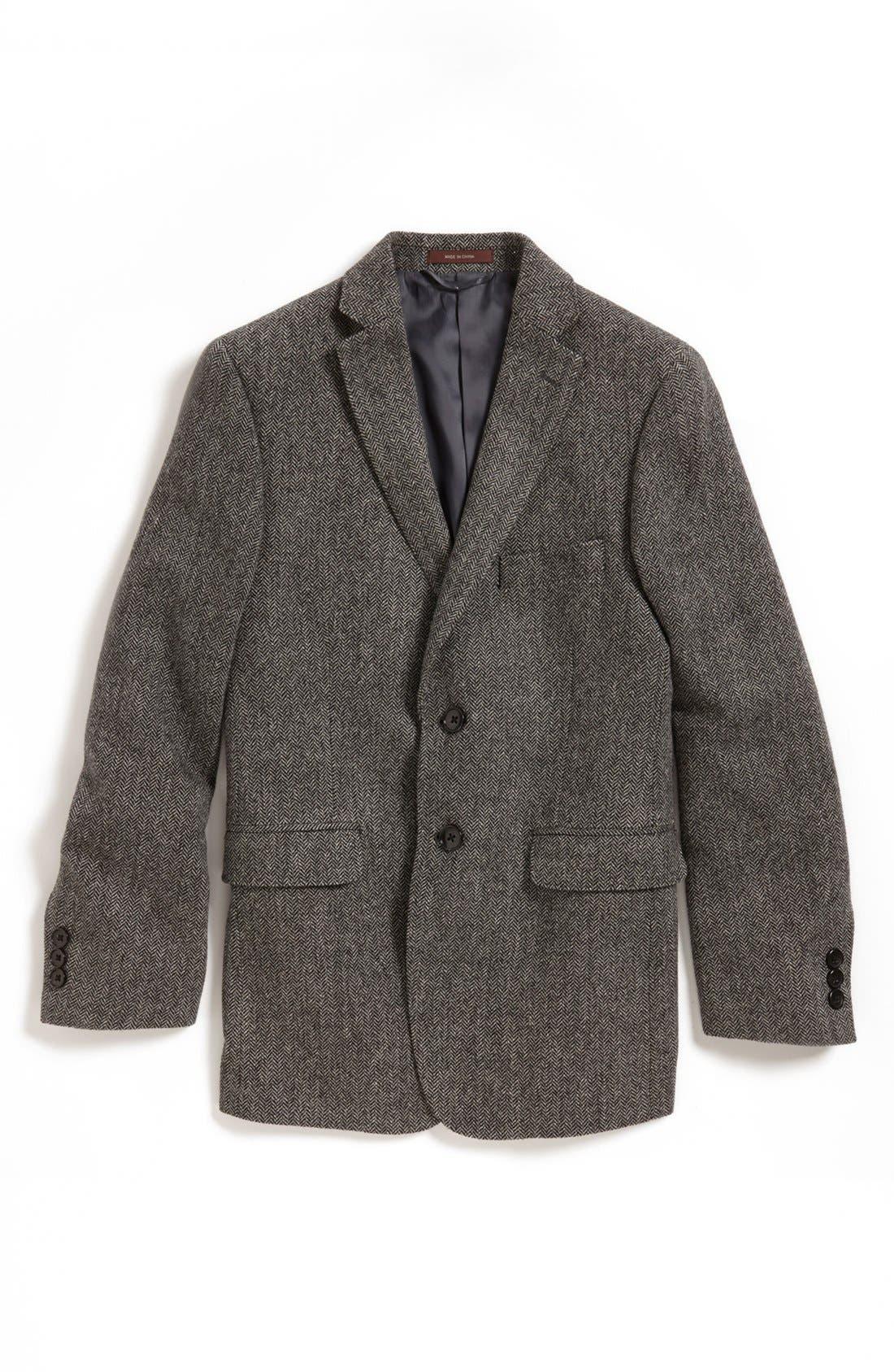 Alternate Image 1 Selected - Hickey Freeman Wool Blend Sport Coat (Big Boys)