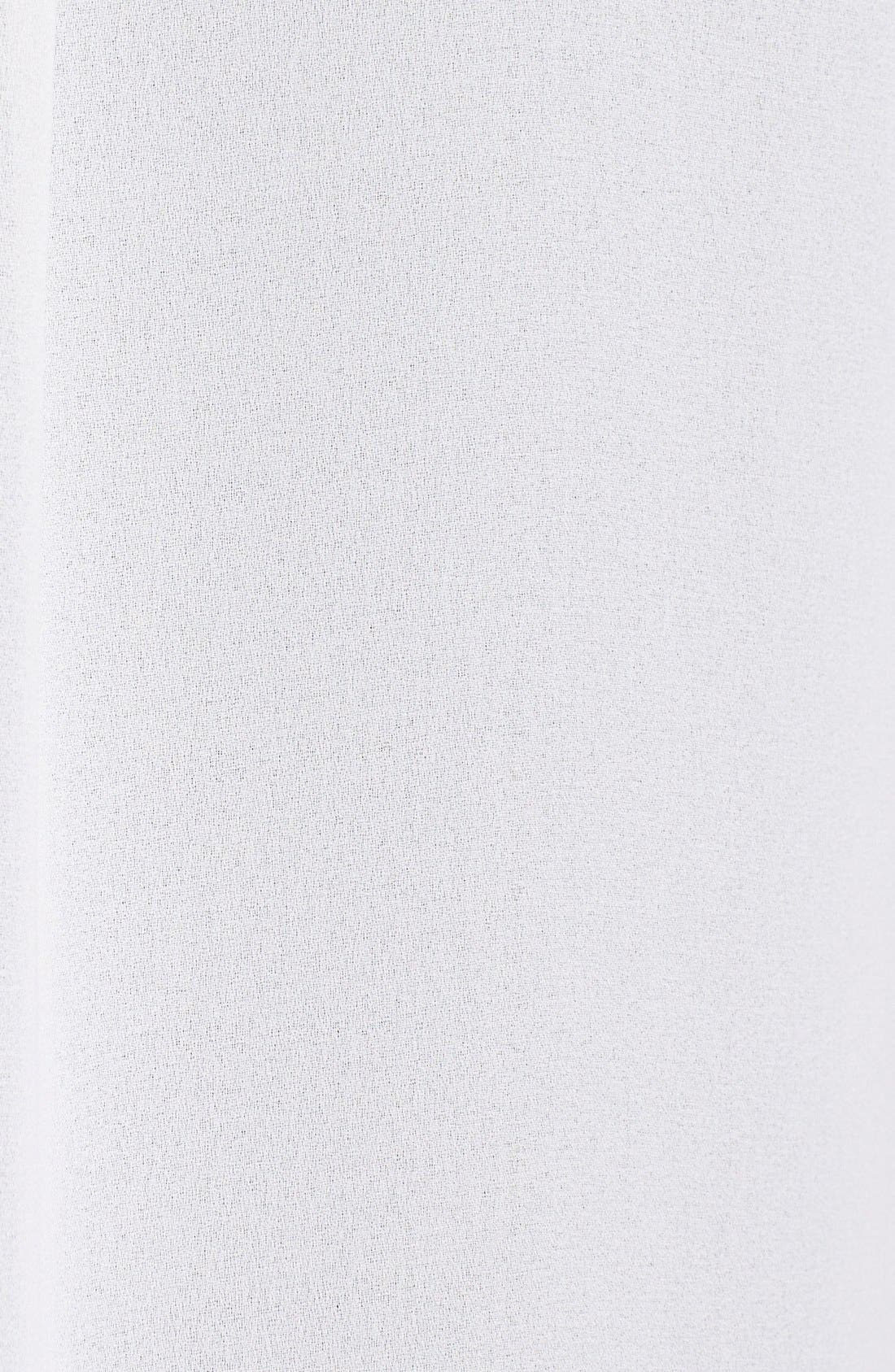 Alternate Image 3  - Halogen® Contrast Collar Print Shirt (Petite)
