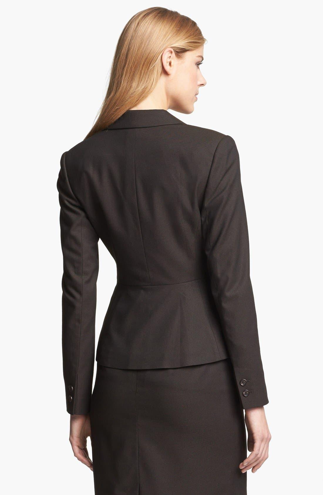 Alternate Image 2  - Halogen® Suit Jacket (Petite)