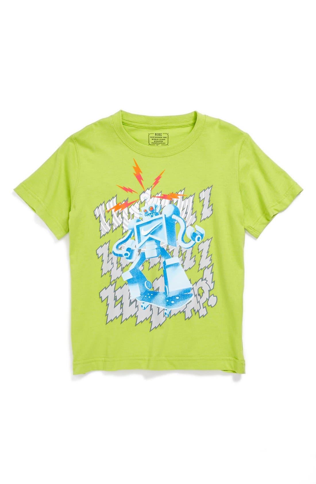 Alternate Image 1 Selected - Nike 'Circuit Breaker' T-Shirt (Little Boys)