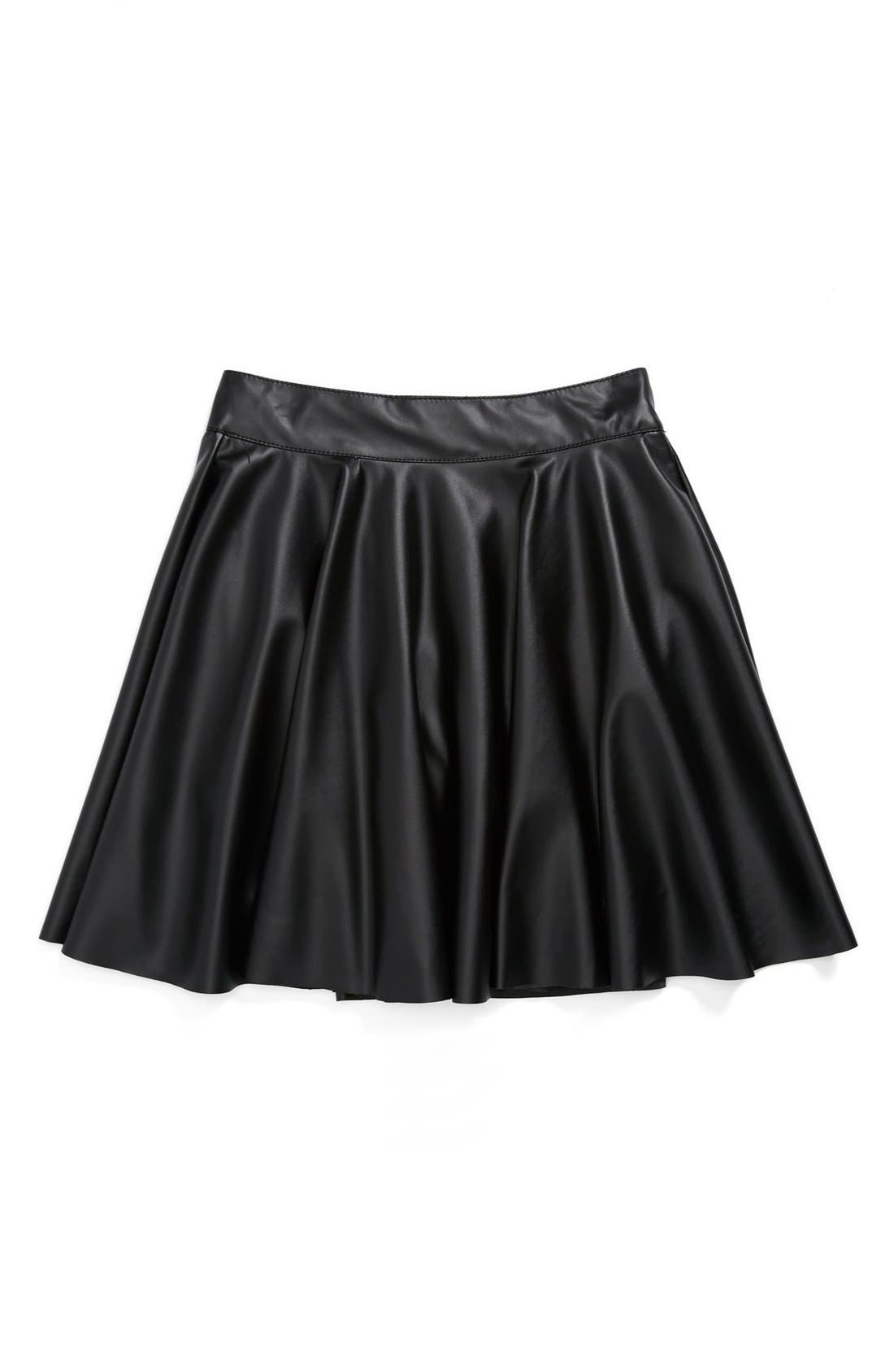 Alternate Image 1 Selected - Un Deux Trois 'Flirt' Skirt (Big Girls)