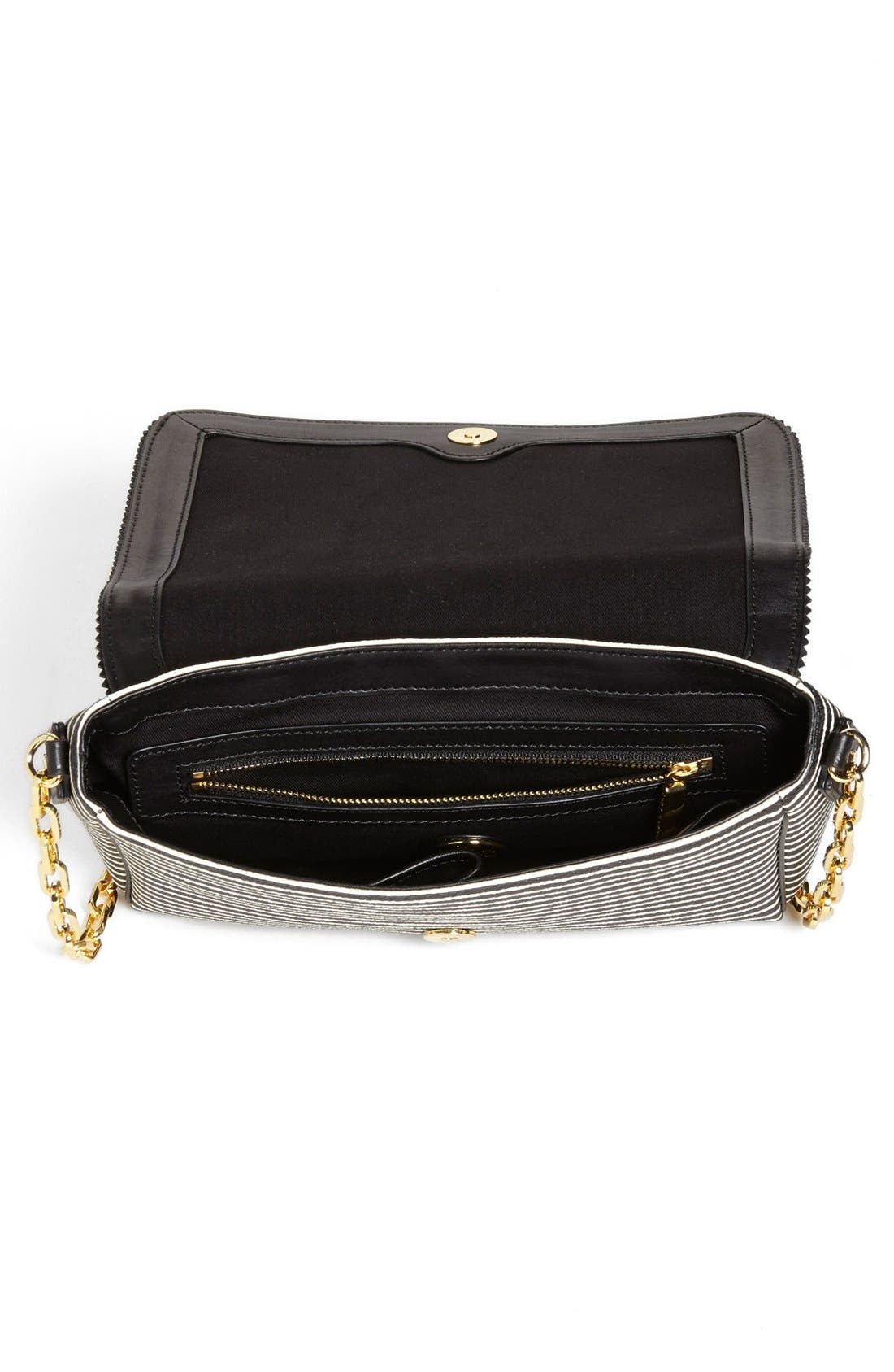 Alternate Image 3  - Tory Burch 'Viva' Canvas & Leather Crossbody Bag