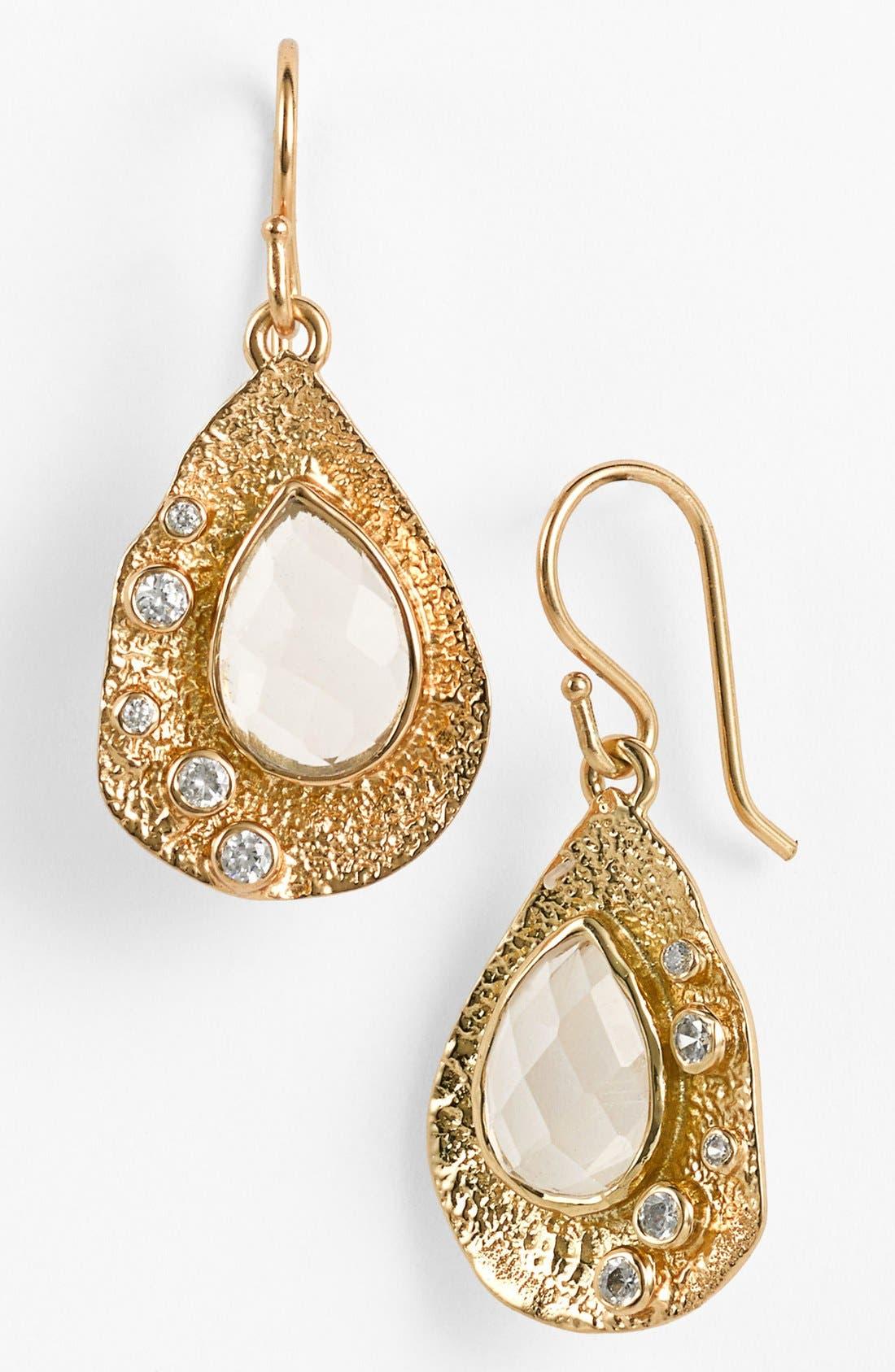 Alternate Image 1 Selected - Melinda Maria 'Maggie' Teardrop Earrings