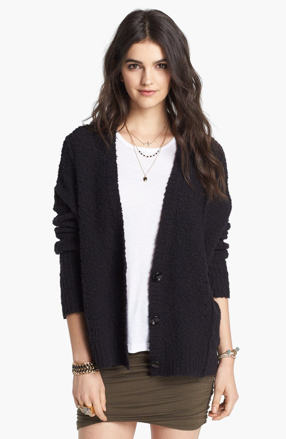 Alternate Image 1 Selected - Free People 'Fall Friend' Cardigan
