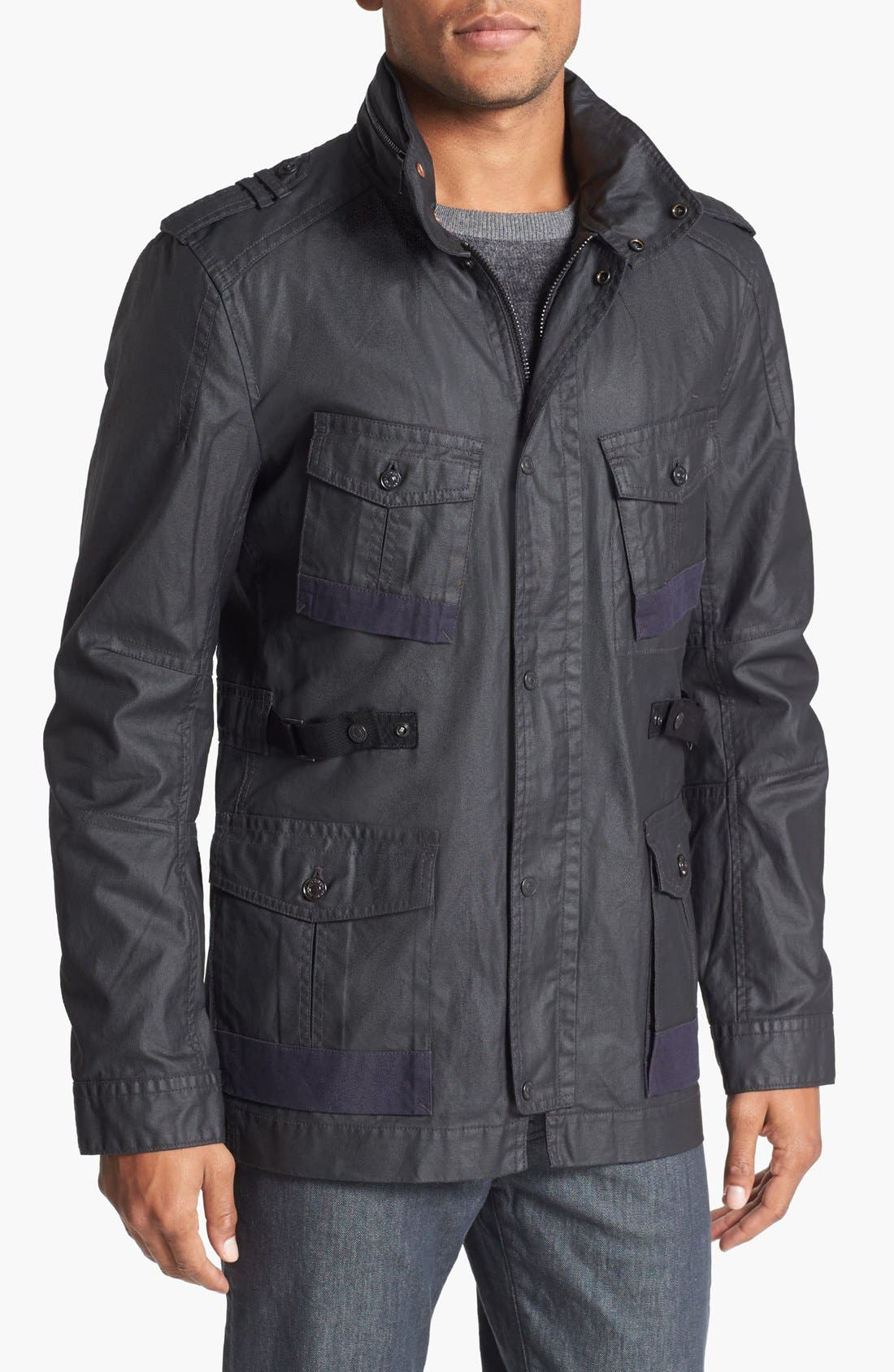 Alternate Image 1 Selected - 7 For All Mankind® Waxed Cotton Jacket