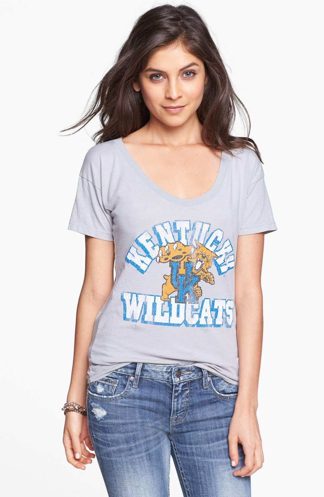 Alternate Image 1 Selected - Retro Brand 'University of Kentucky Wildcats' Graphic Tee (Juniors)