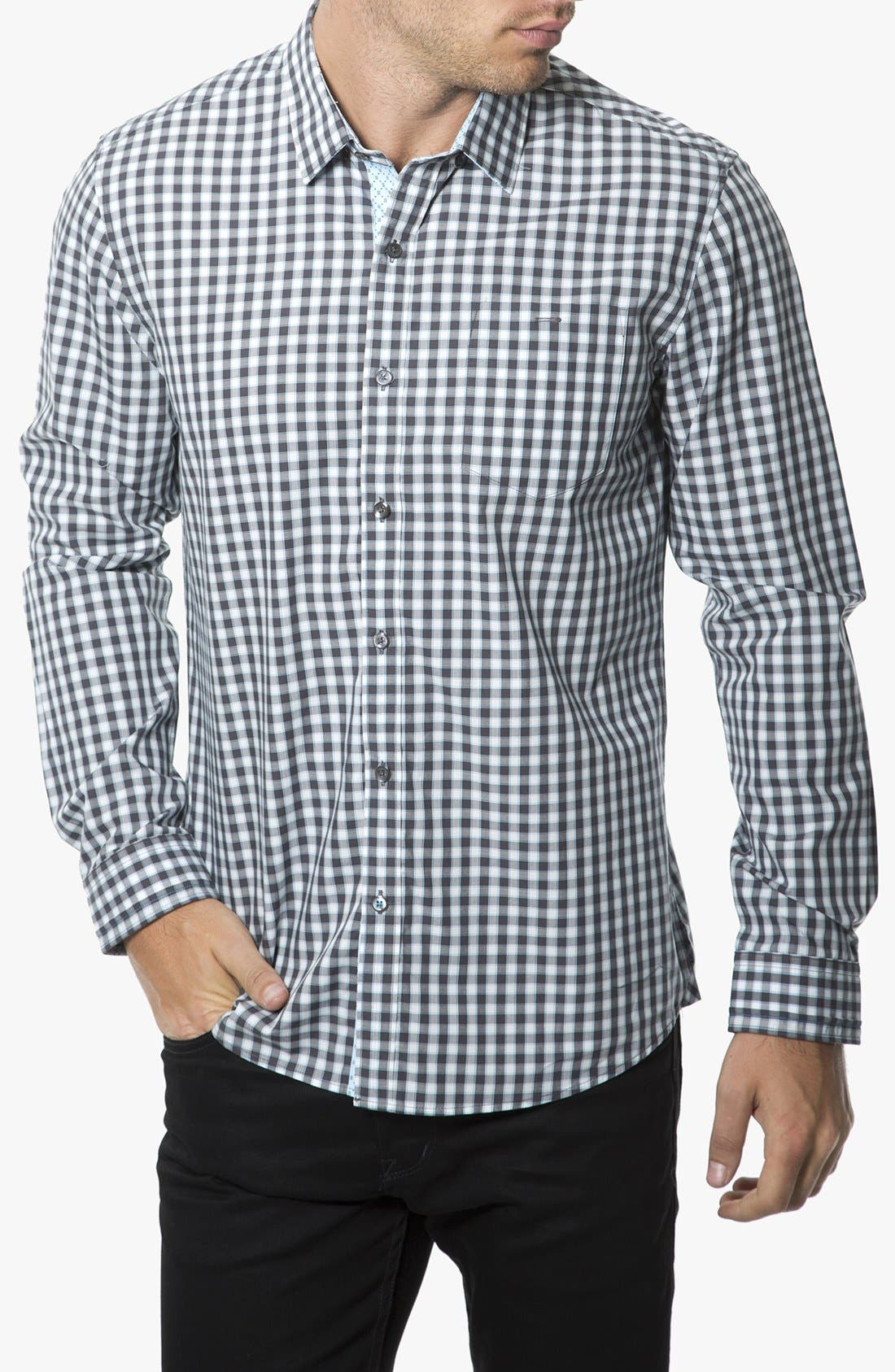Alternate Image 1 Selected - 7 Diamonds 'Policy of Trust' Check Shirt