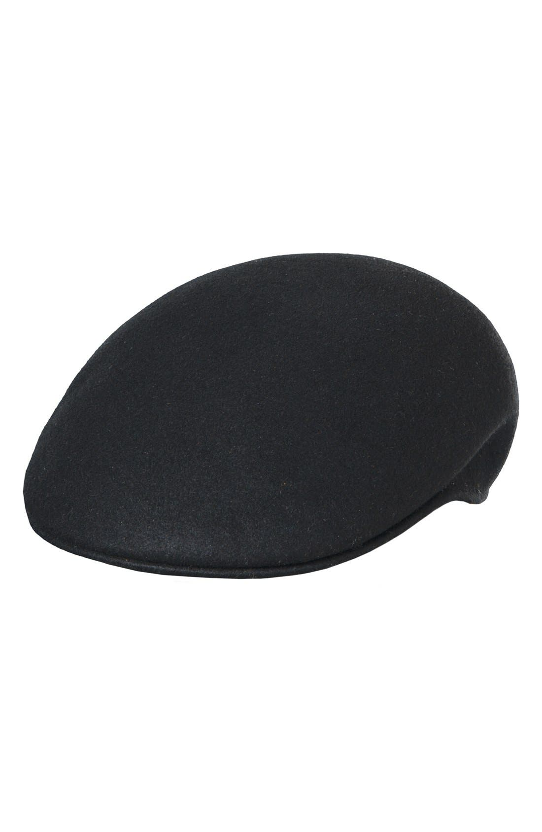 Scala Classico Crushable Felt Driving Cap