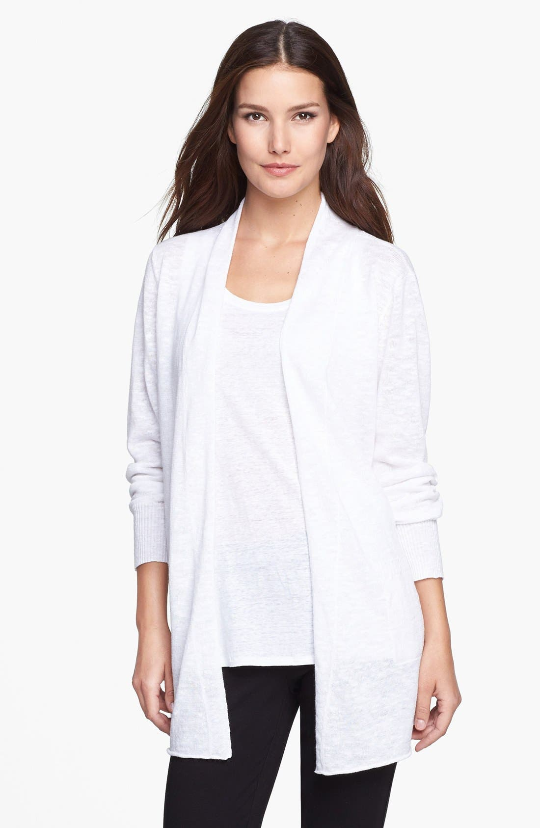 Main Image - Eileen Fisher Long Cardigan