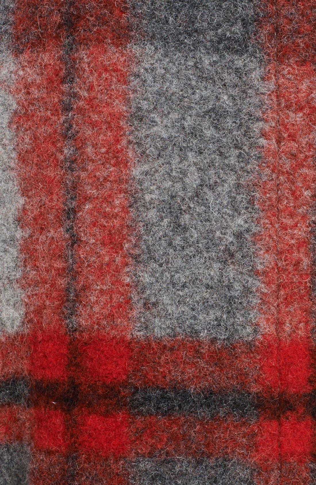 Alternate Image 3  - Burberry Brit 'Sharford' Plaid Coat